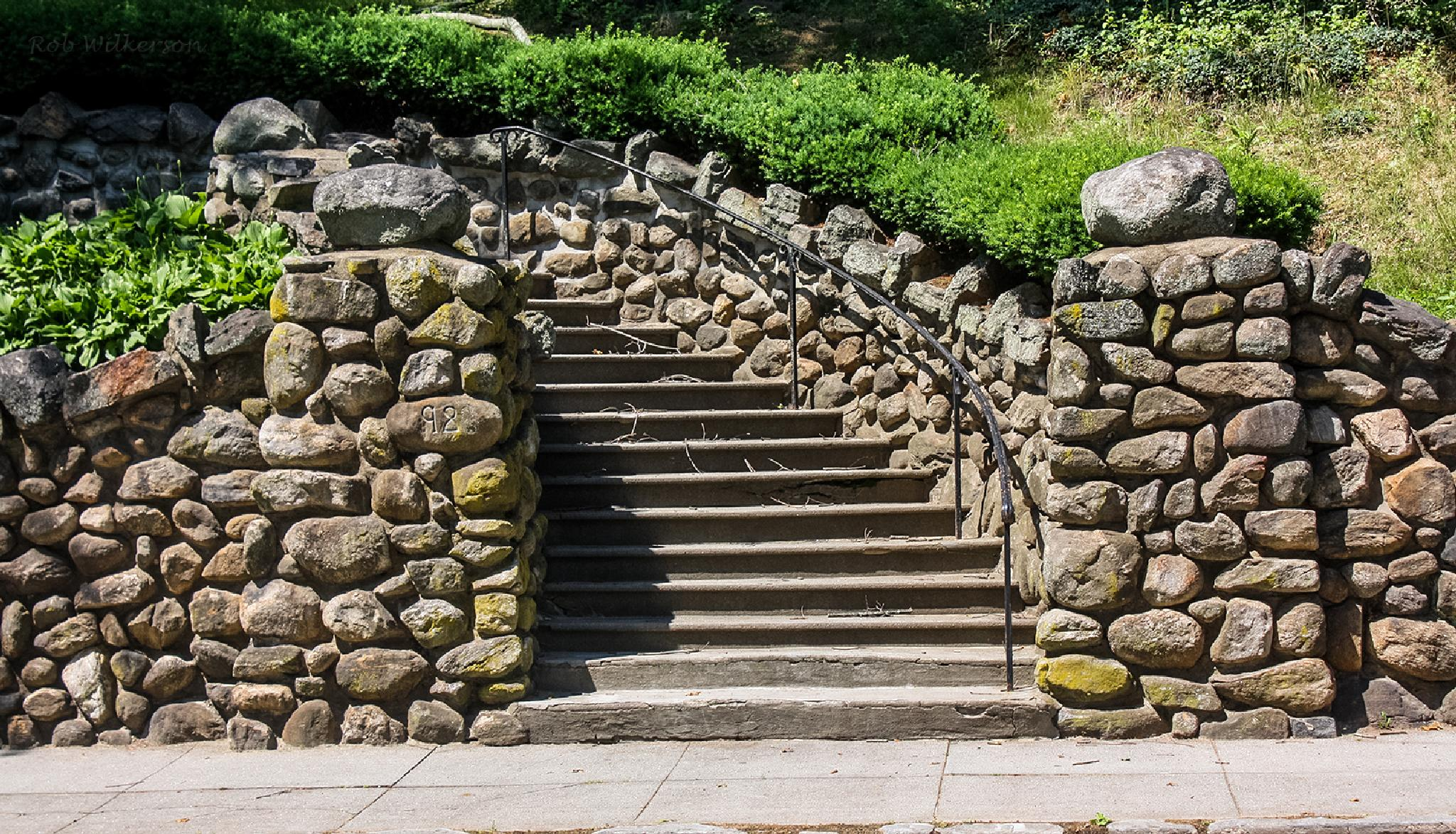 Stone Staircase  by RobW '92