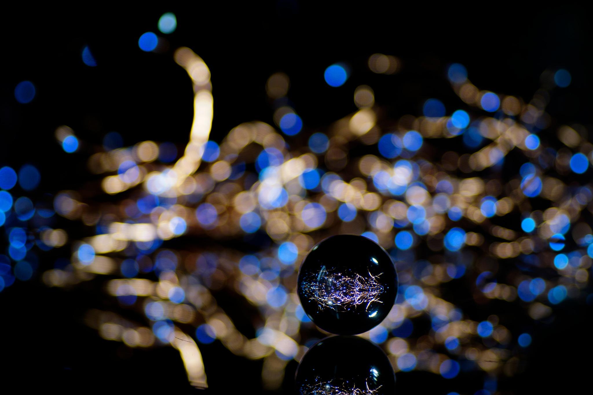 Magic crystal ball by sylviecorriveau