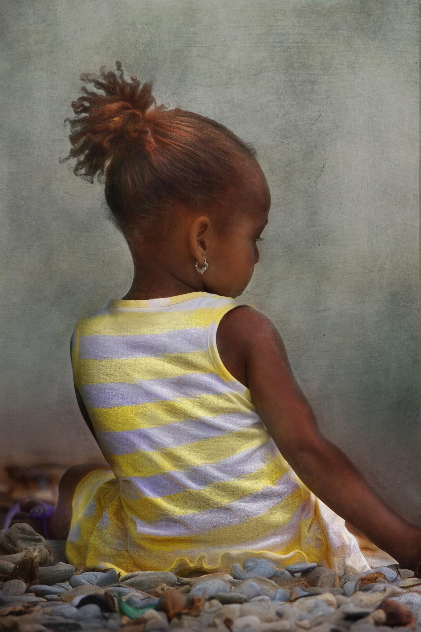 Lilltle dominican girl by sylviecorriveau