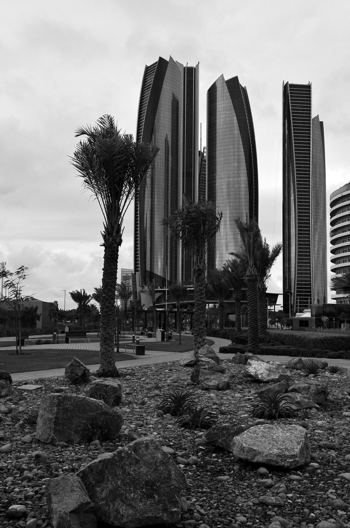 etihad towers by jimeier f.