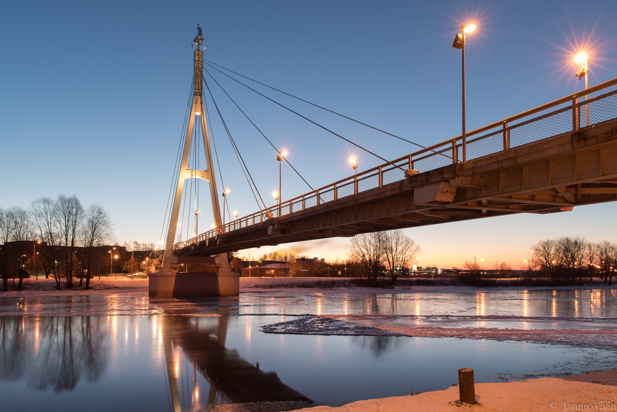 morning River by Janno Vään