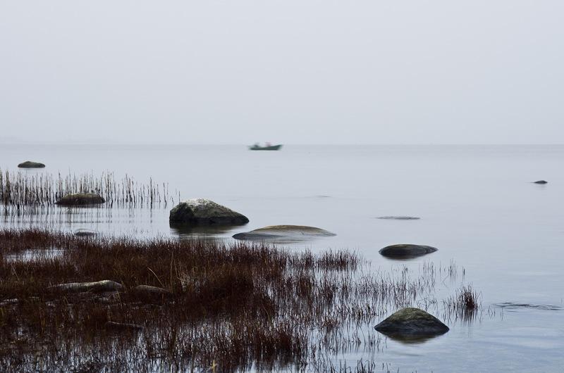 on the sea by Janno Vään