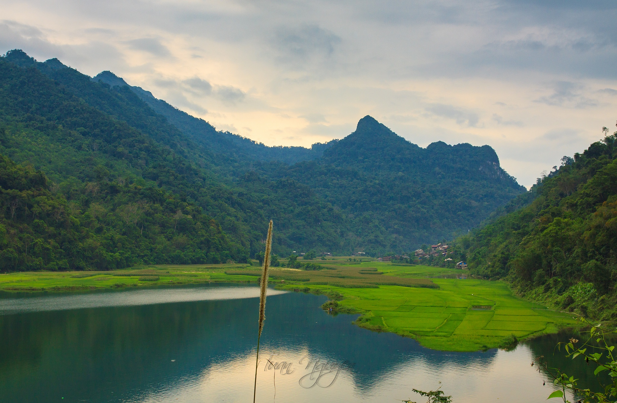 Ba Be Lake by Tuan Nguyen