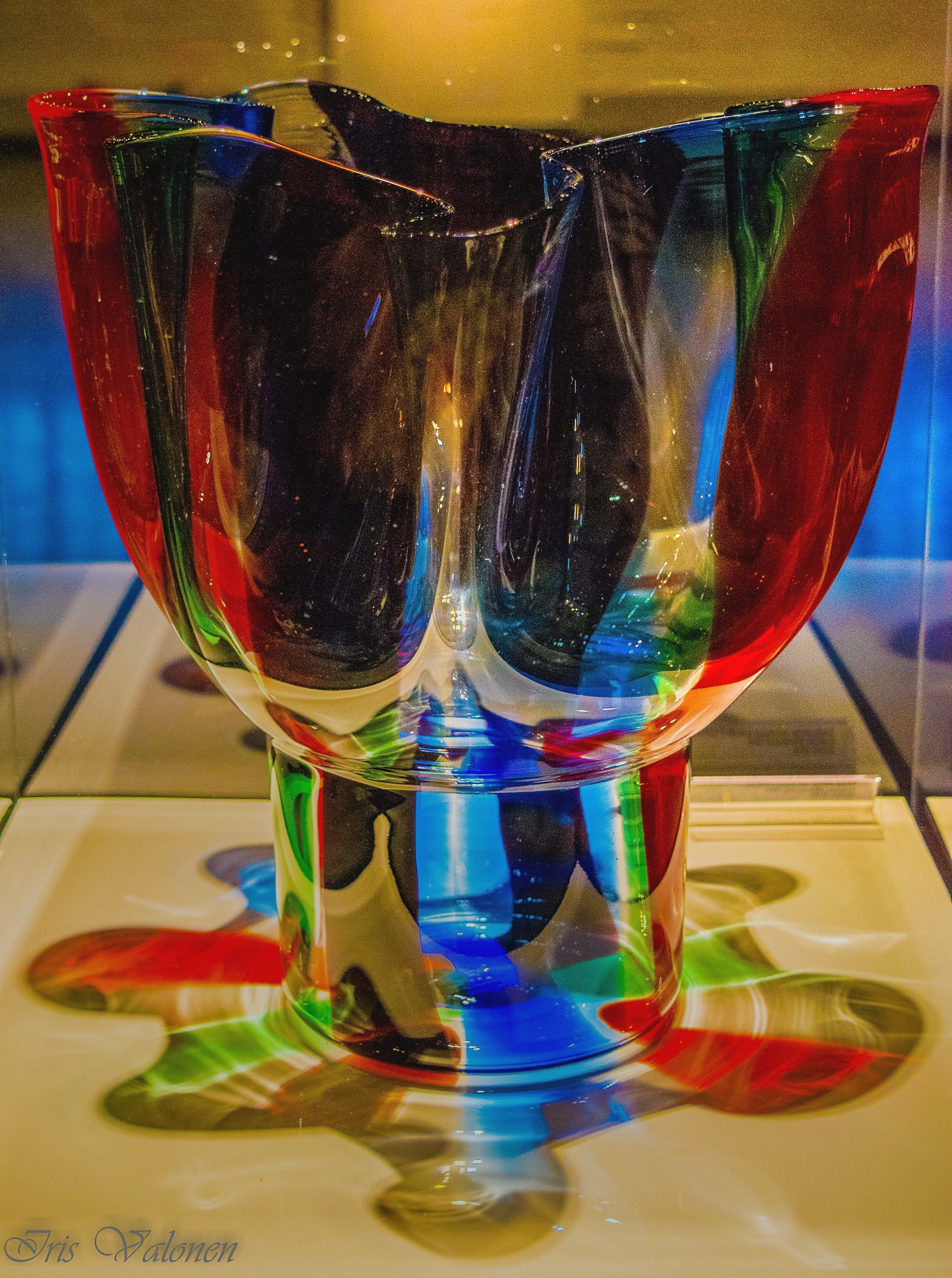 Finnish desing glass 2 by Iris V