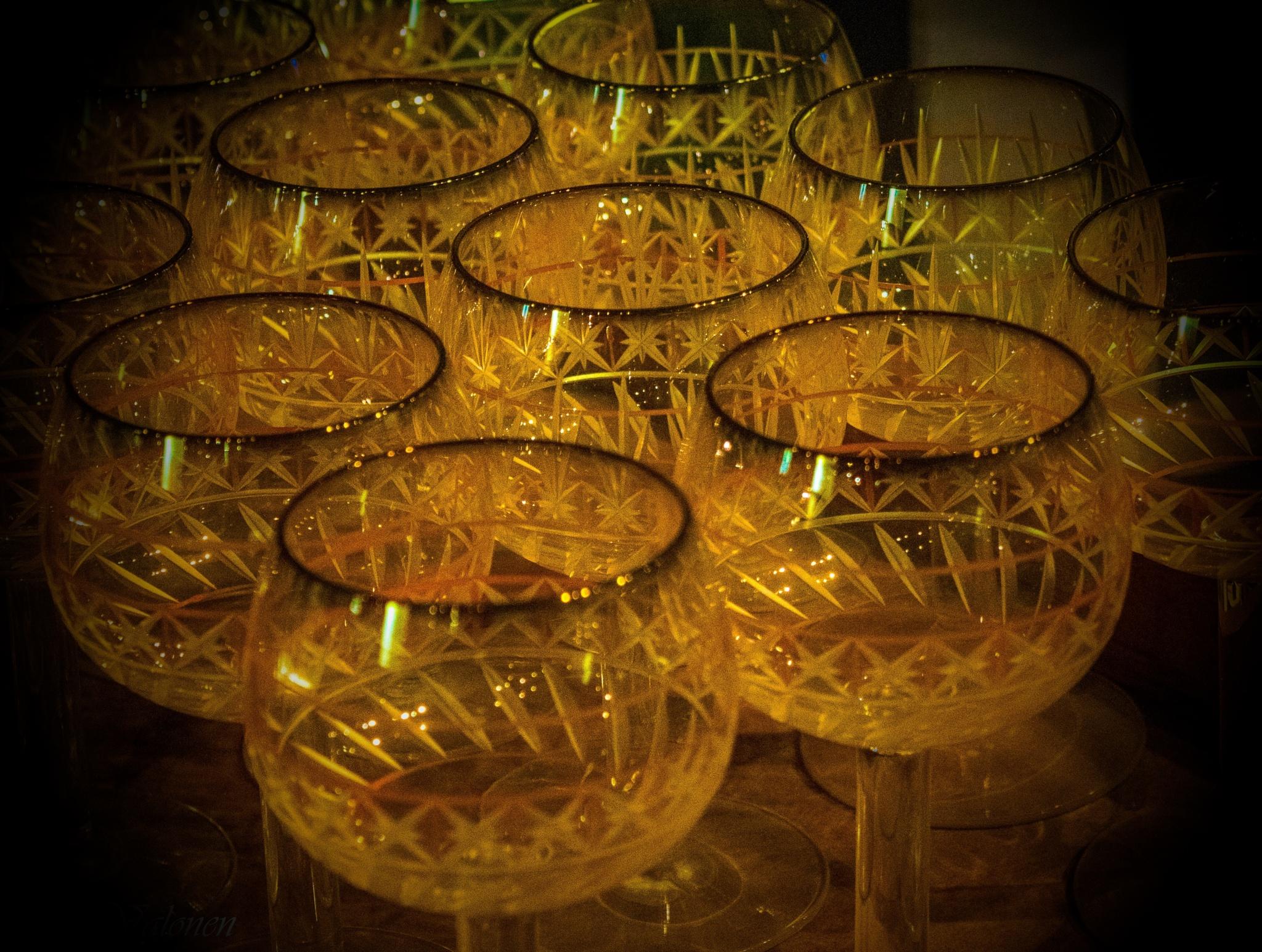 Glass desing by Iris V