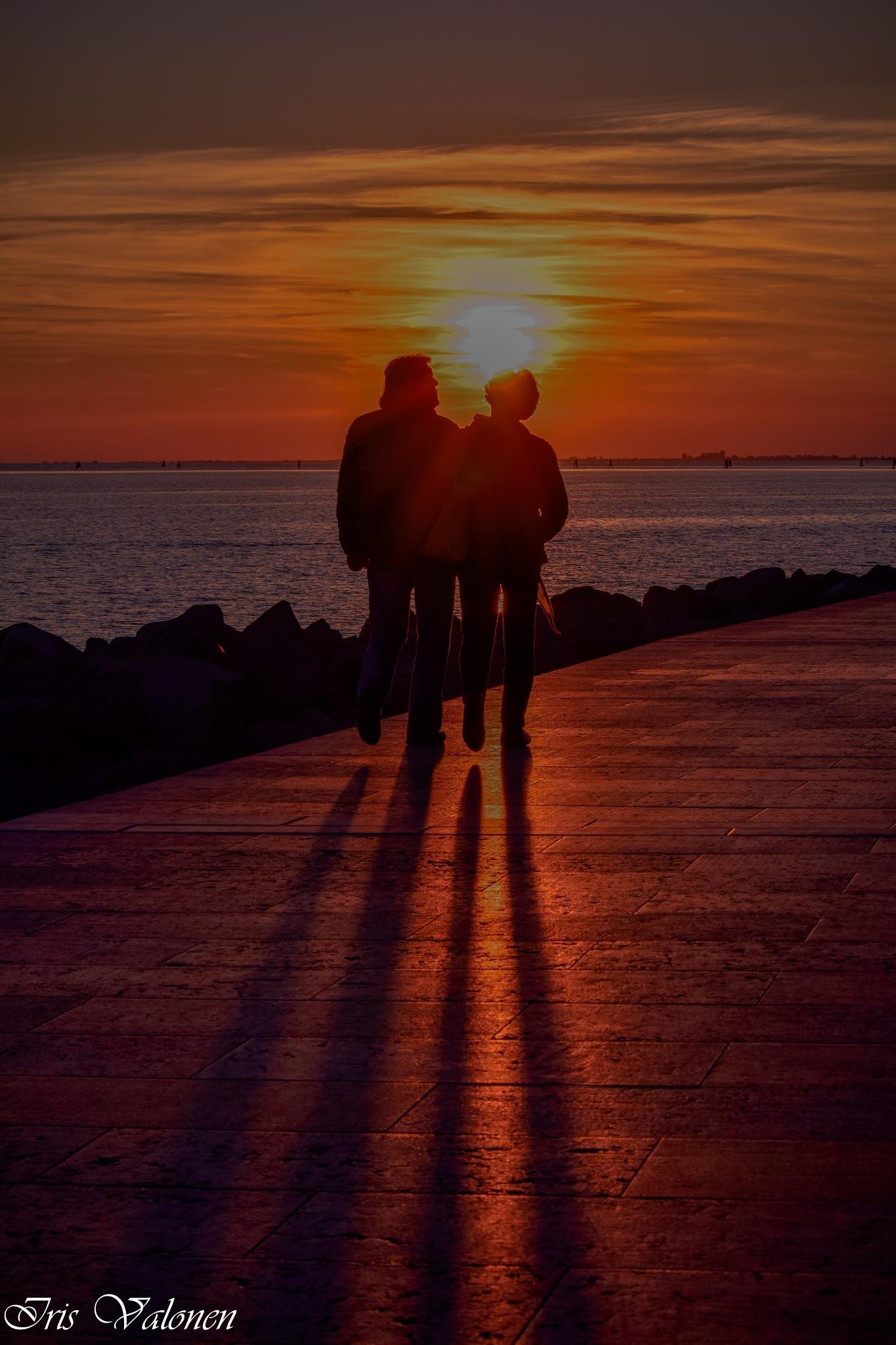 Auringonlasku, Grado by Iris V