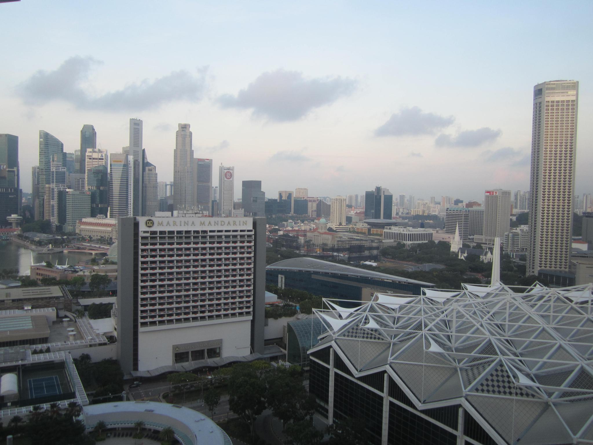 Cityscape #1 by R Ramakrishnan