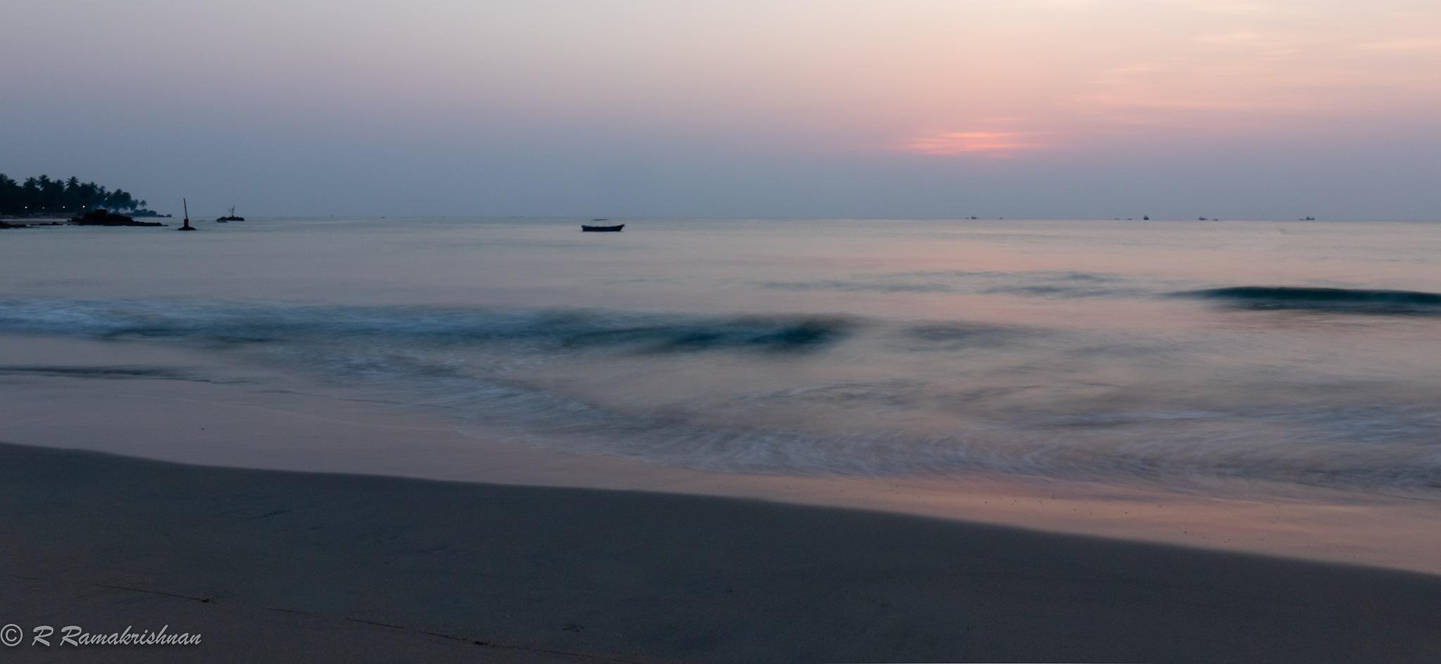 A dreamy sunrise! by R Ramakrishnan
