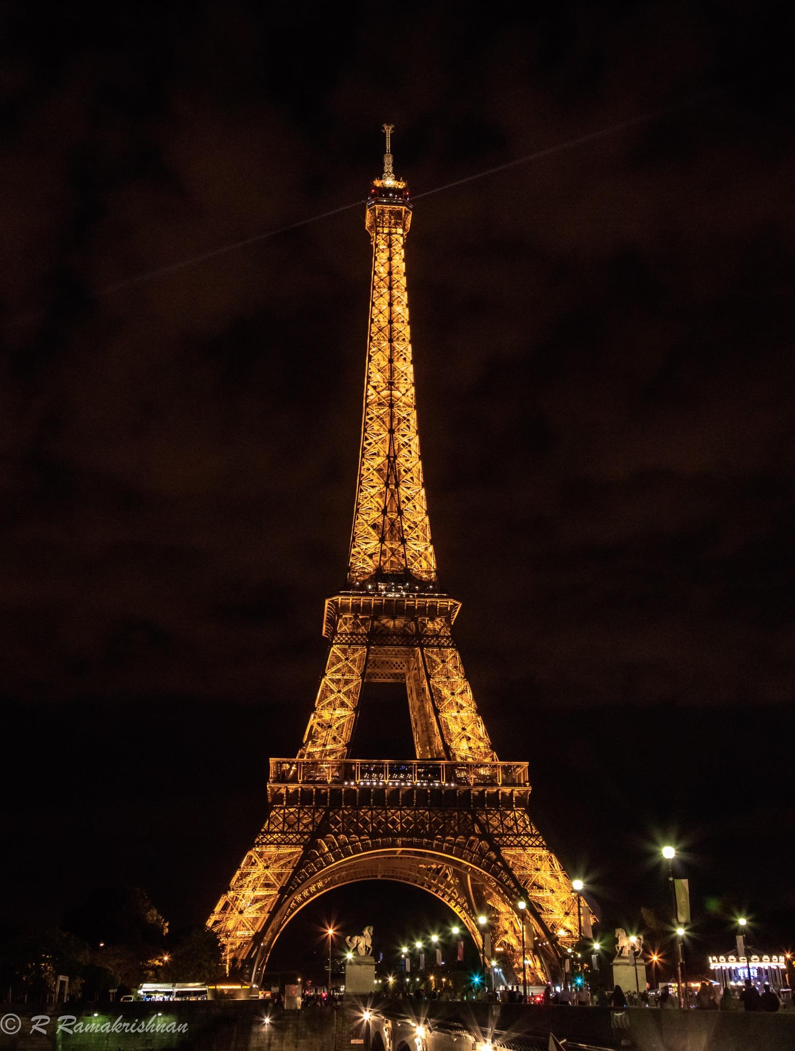 """One night in Paris!"" by R Ramakrishnan"