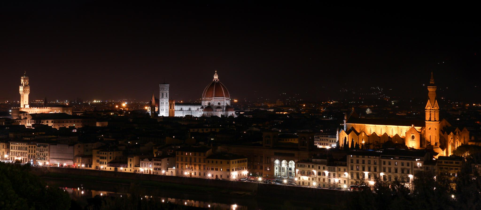 Florence by Night by Jens Goos