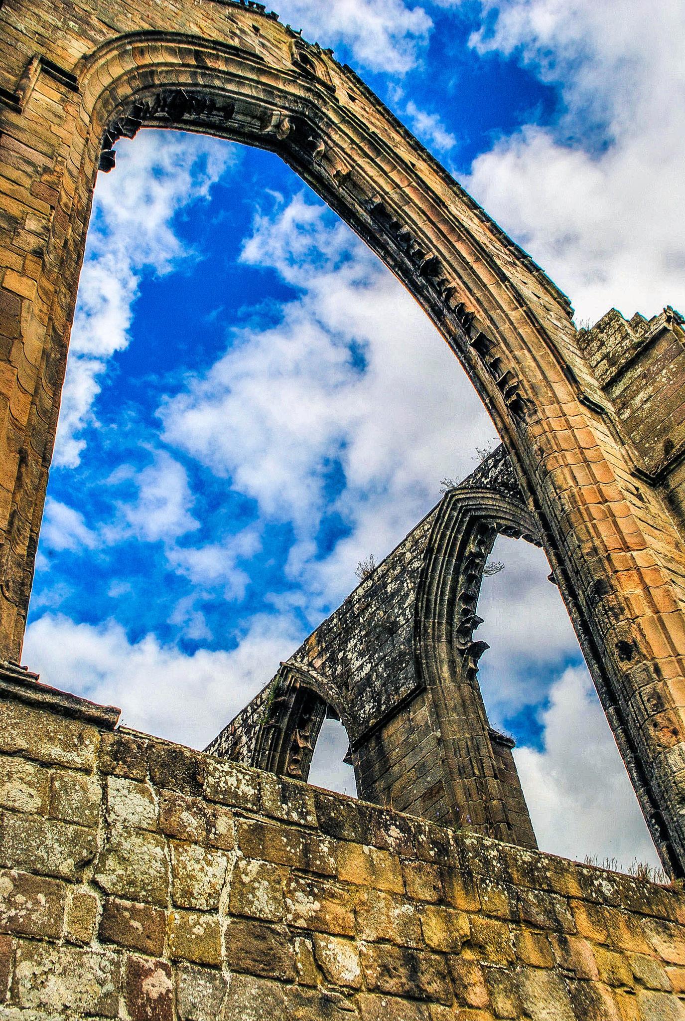 Bolton Abbey, Yorkshire by Reckoner