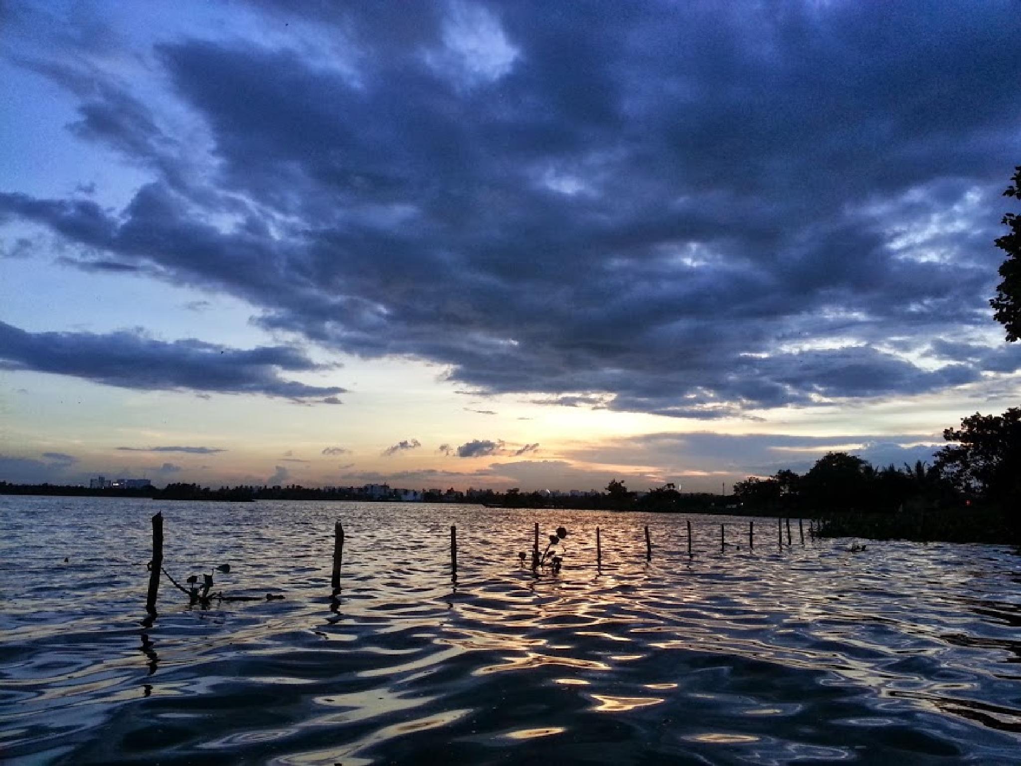 sunset by Arindam Sarkar