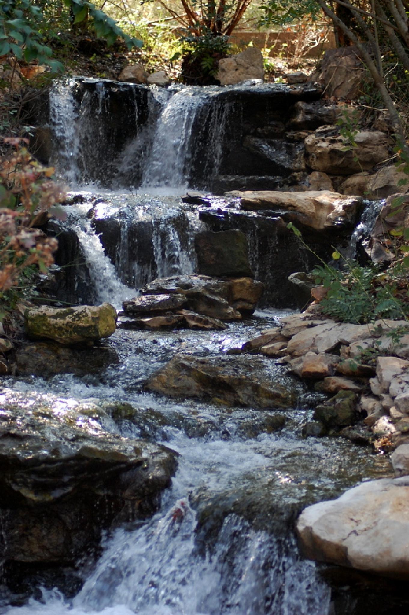 Water falls by Betty Nelms