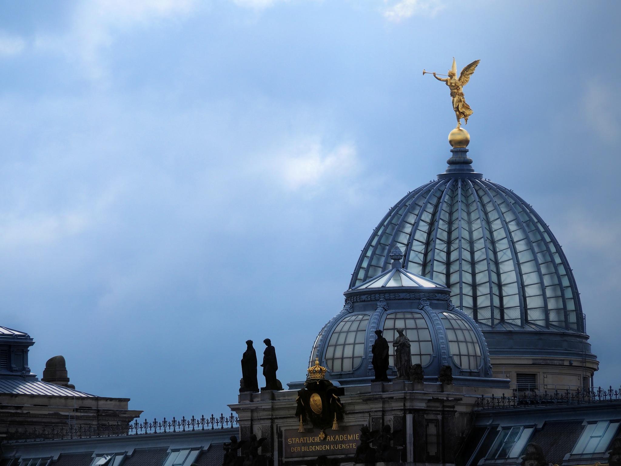 Dresden - Akademie der Bildenden Künste by Brigitte Bohlscheid