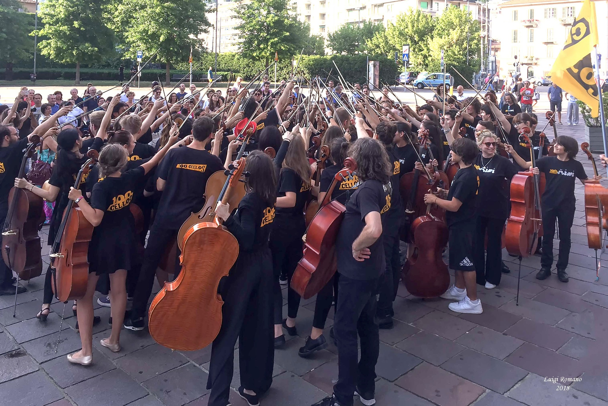 All for one - Concert for violas by Luigi Romano