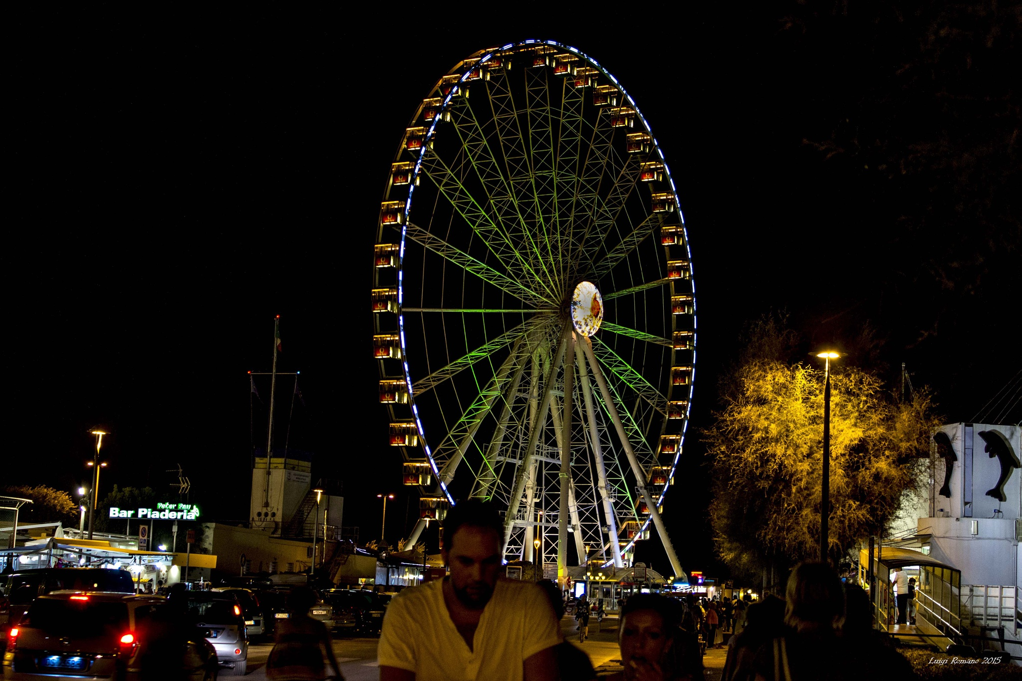 The Ferris wheel by Luigi Romano