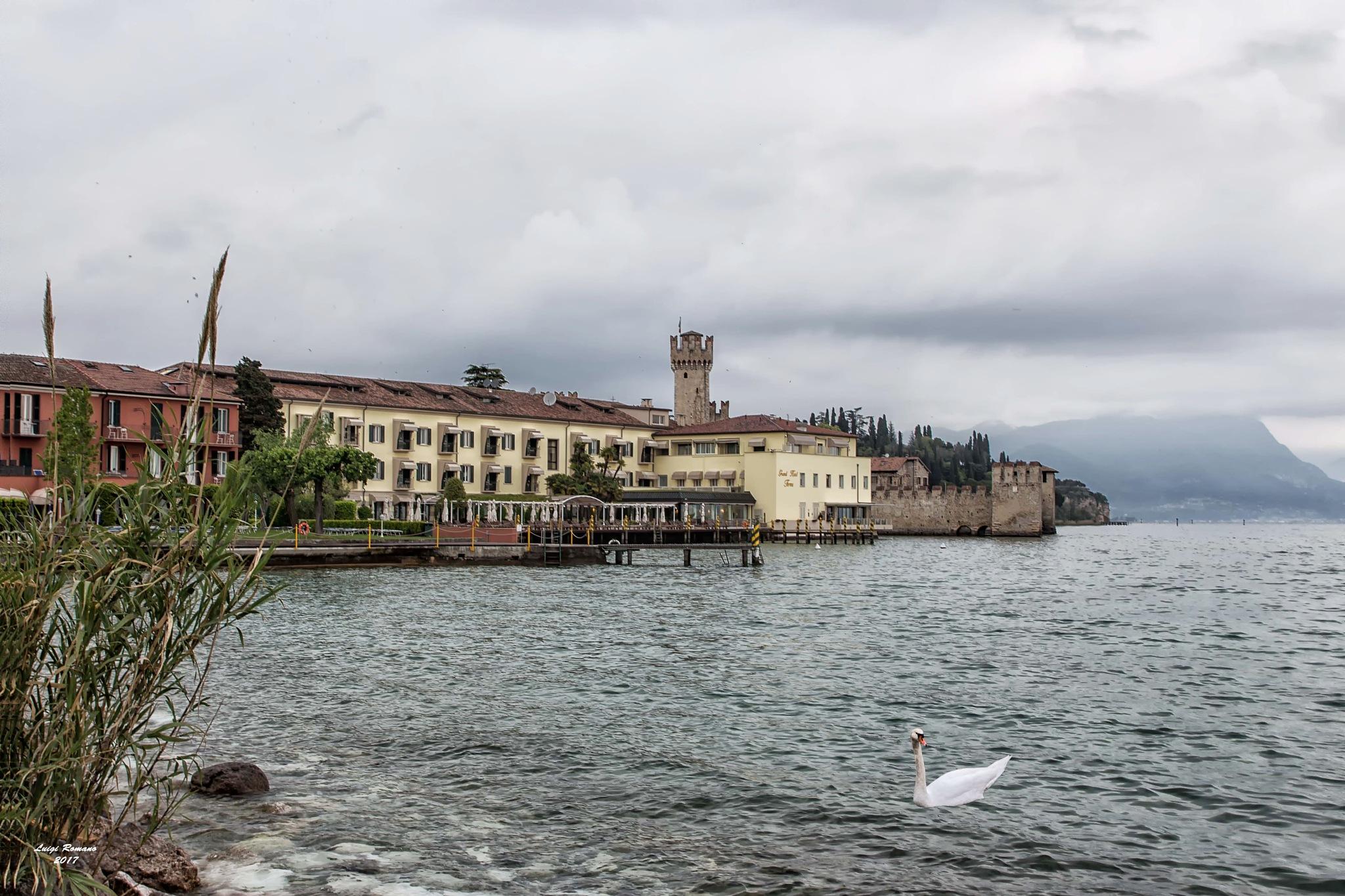 In Sirmione on Lake Garda by Luigi Romano