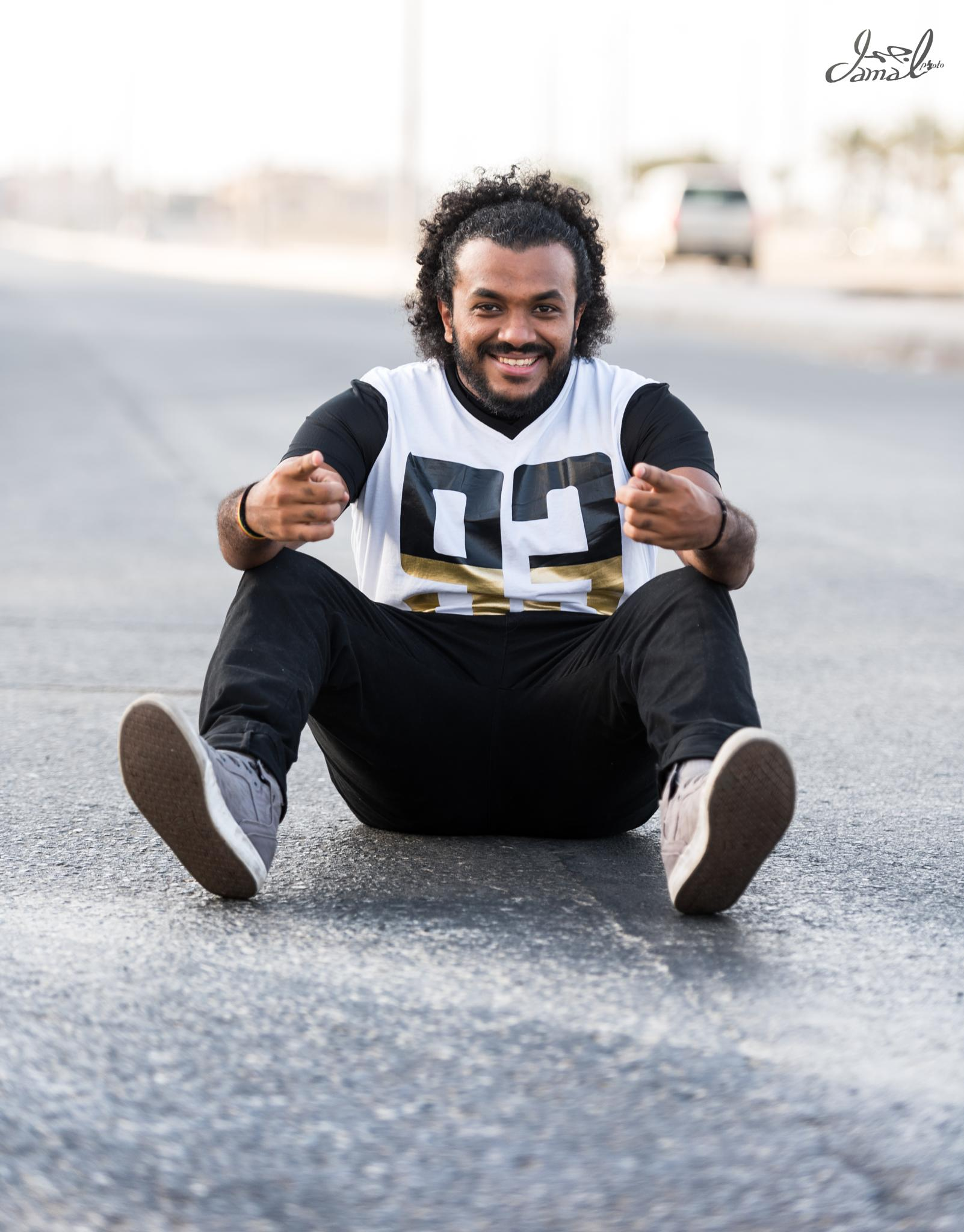 Fun in the middle of street by Jamal.Batawi