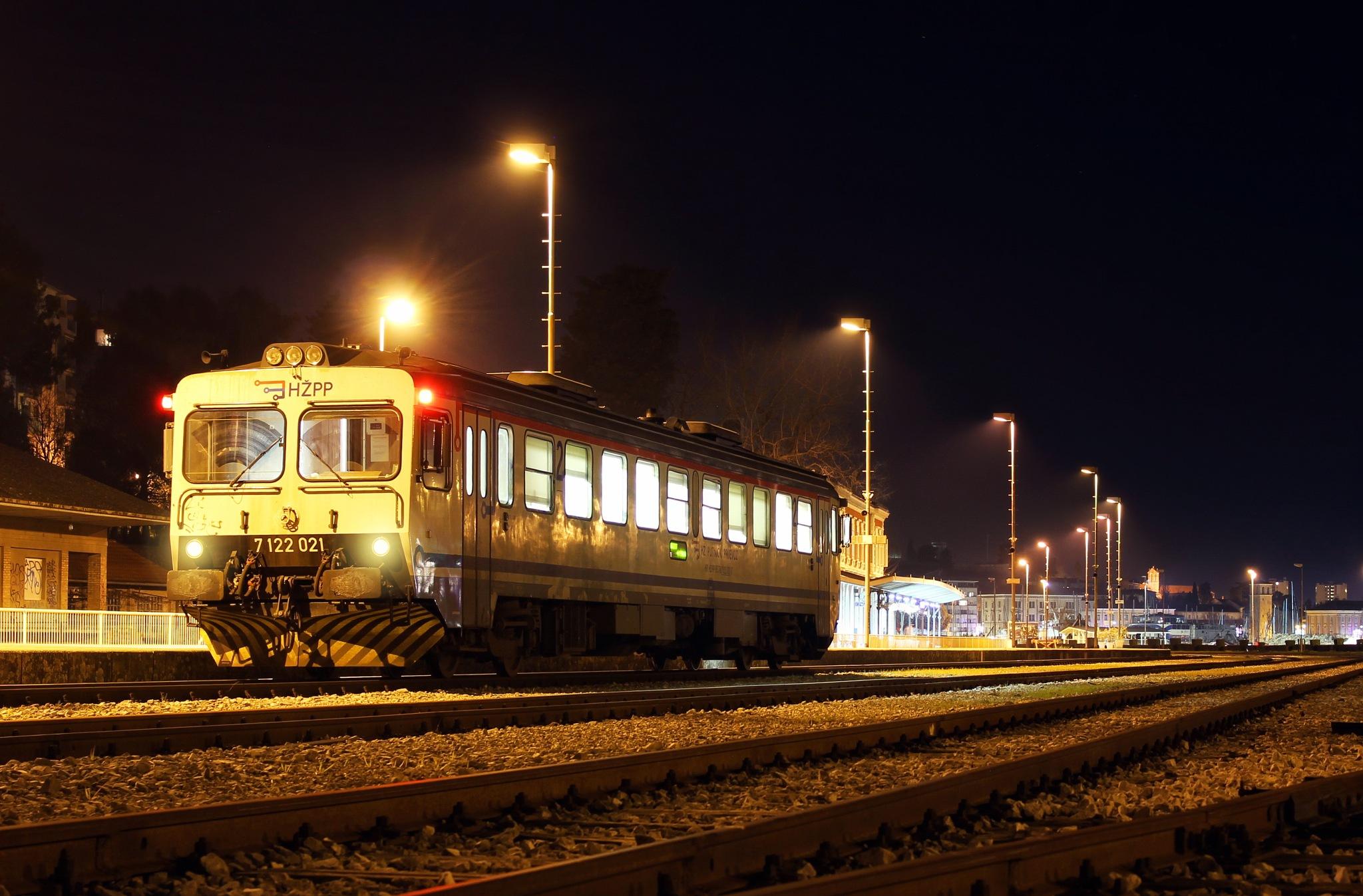 last train for tonight by Kristijan Siladic