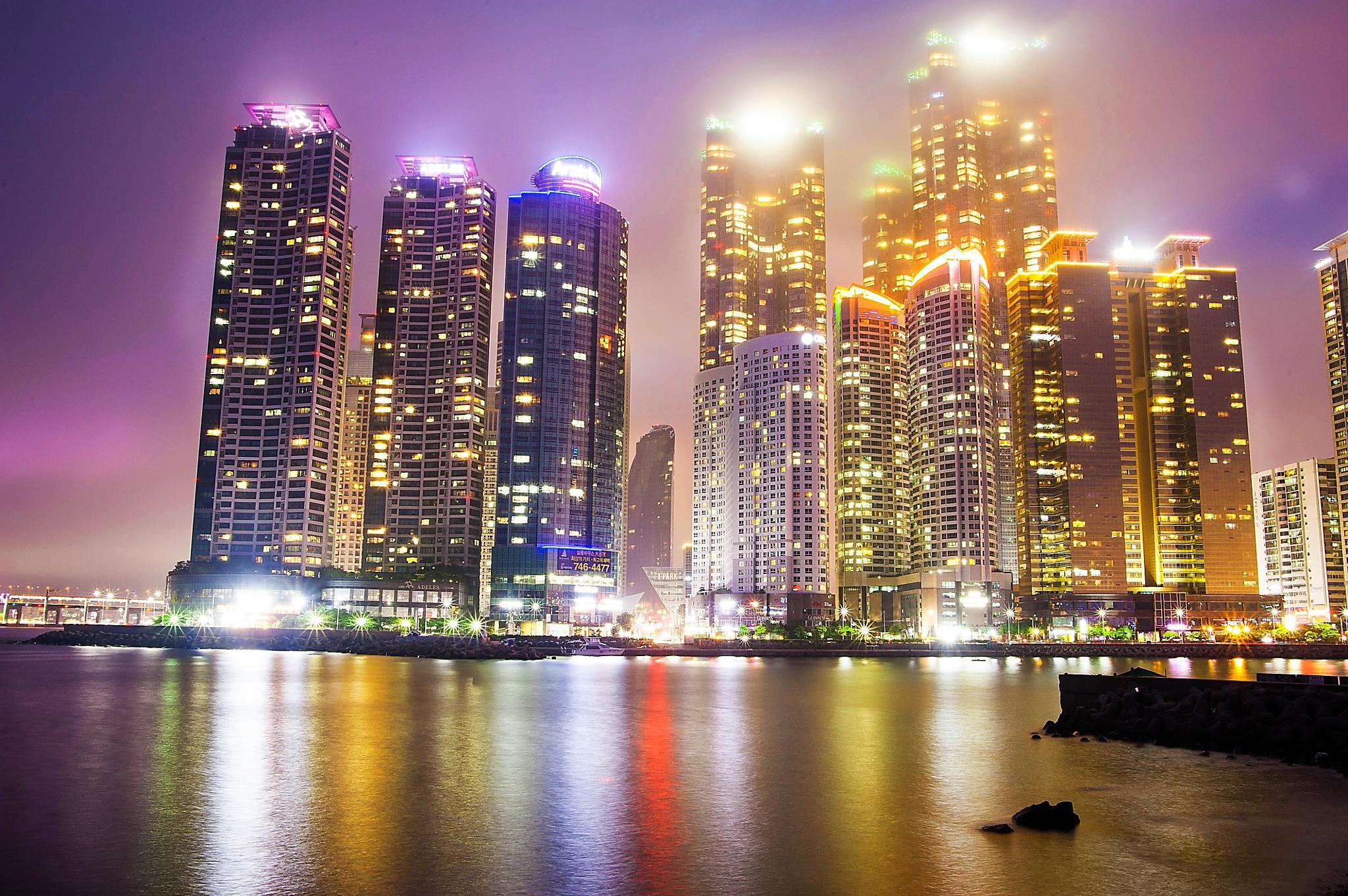 Busan Marine City by Bluesrock