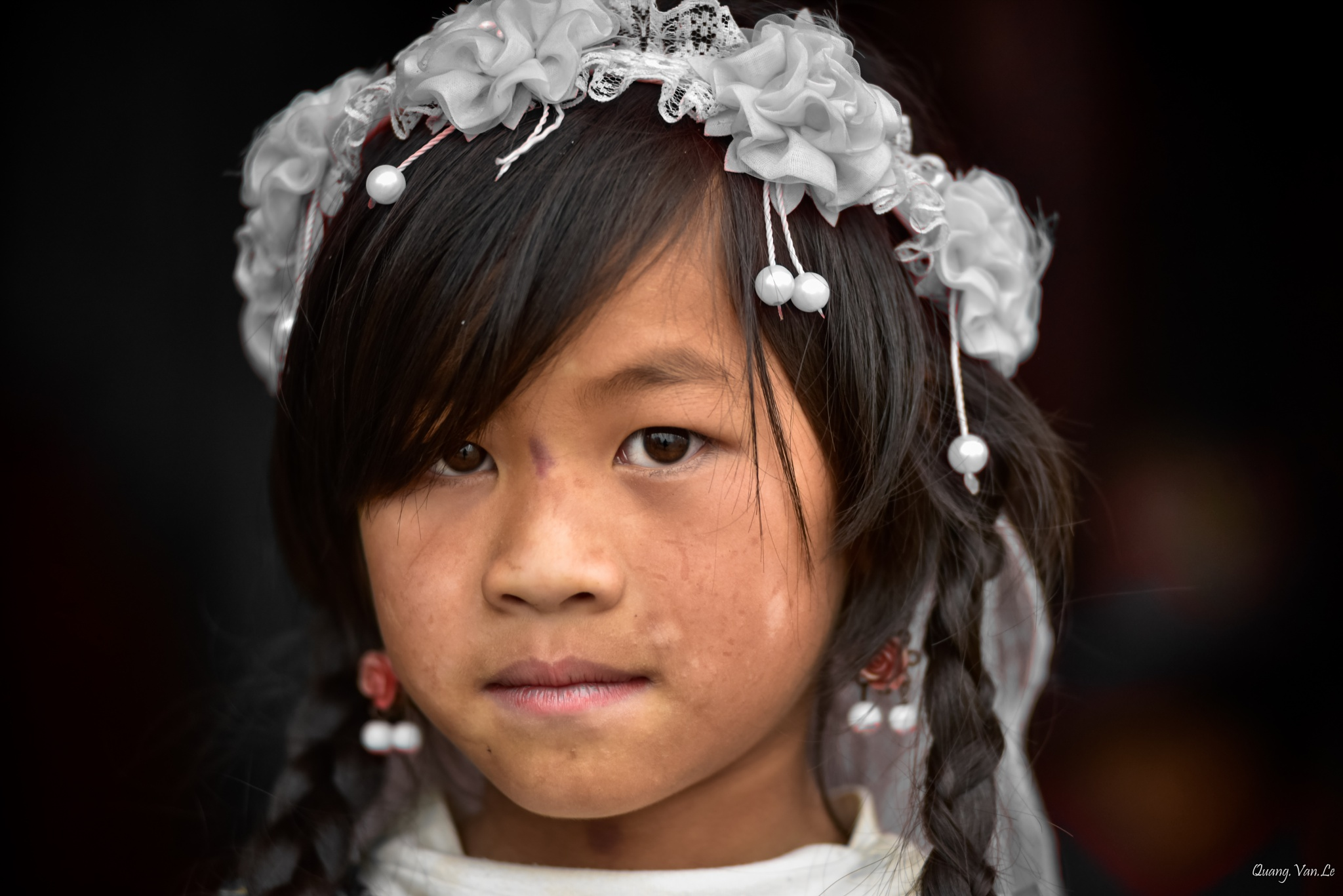 Little H'mong Girl by Quang Le