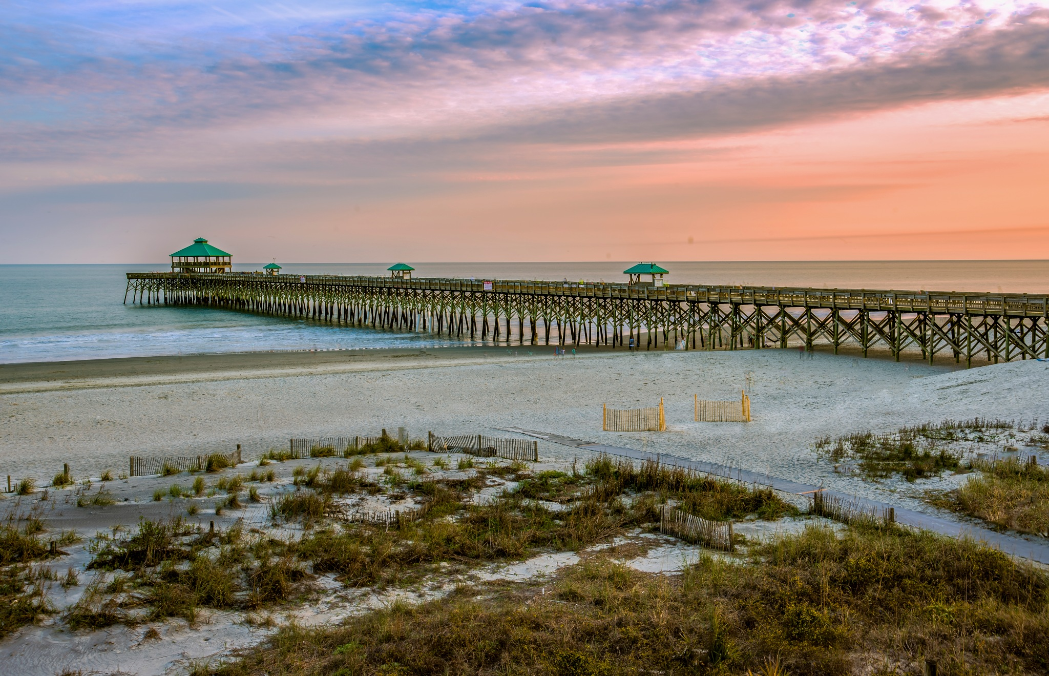 Folley Pier by Paul Coleman