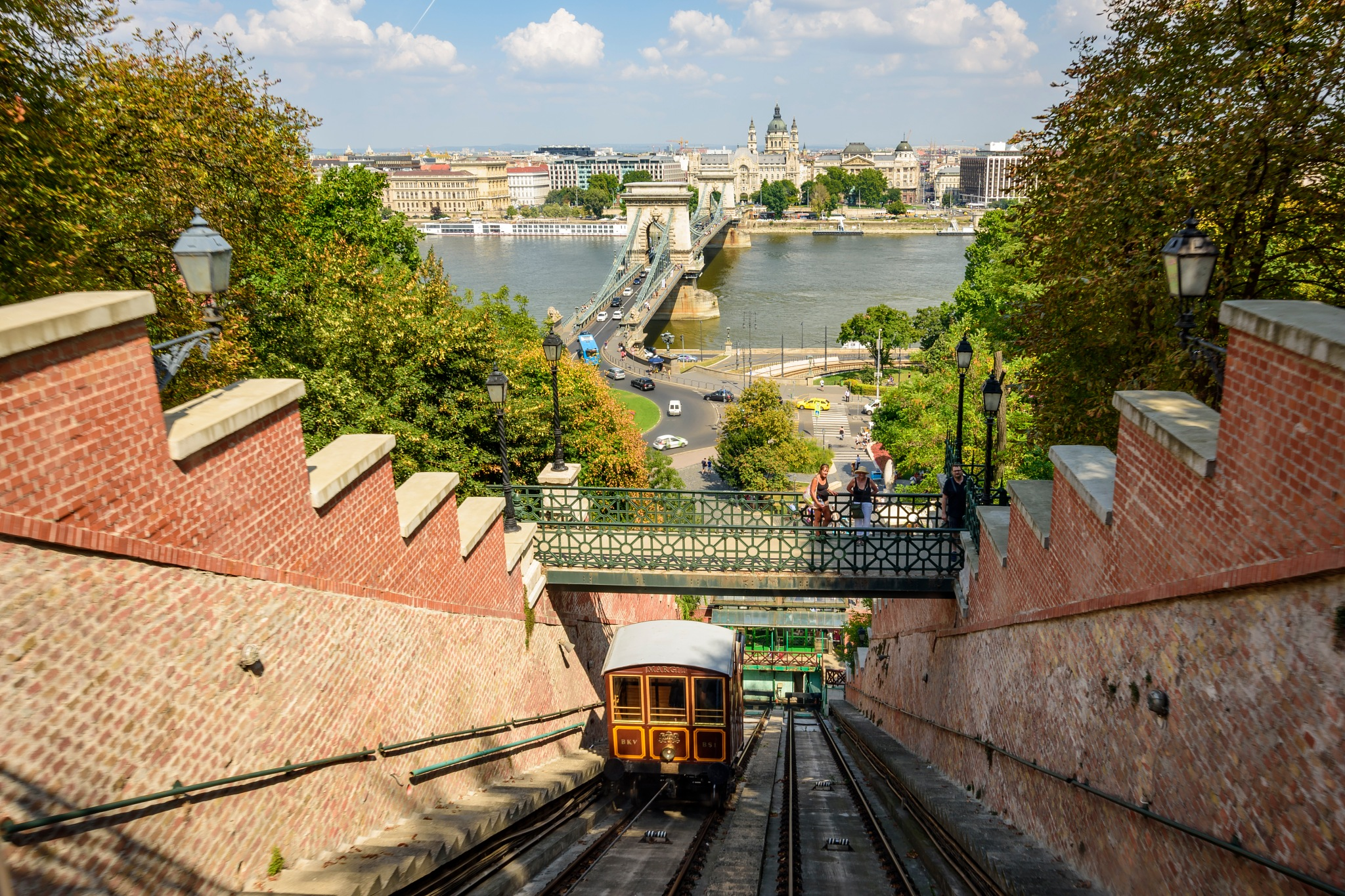 Budapest Castle Hill Funicular by Paul Coleman