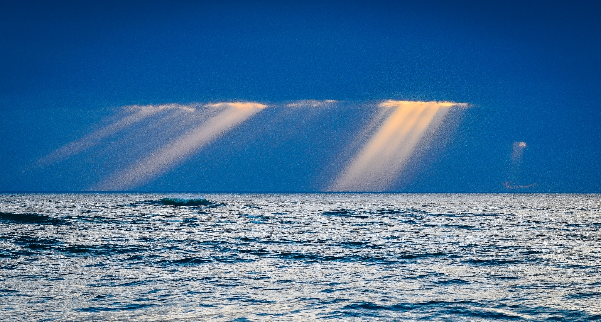 Rays of light by Paul Coleman