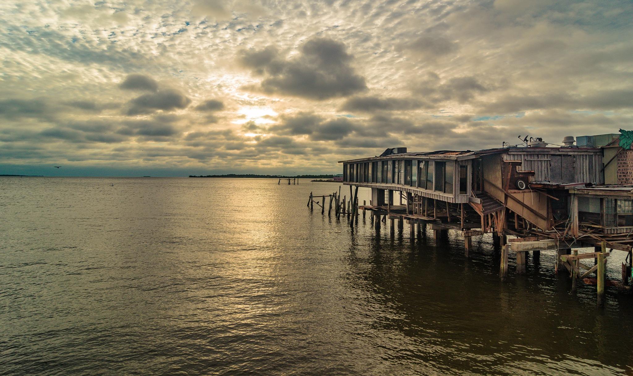 Sunset at Cedar Key by Paul Coleman