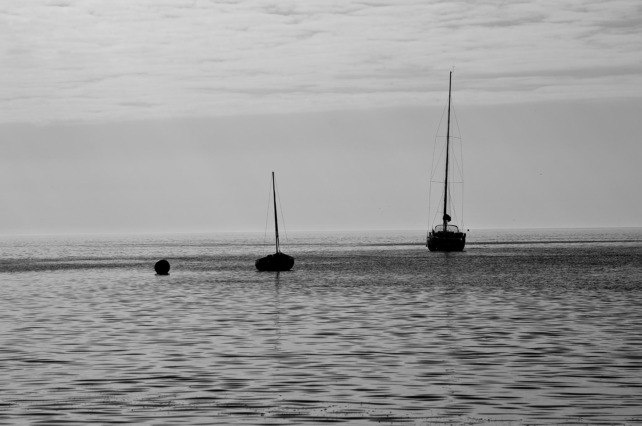 Becalmed by Moz Moore