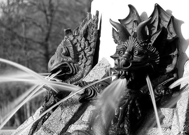 devil fountain by thierrylorenzo