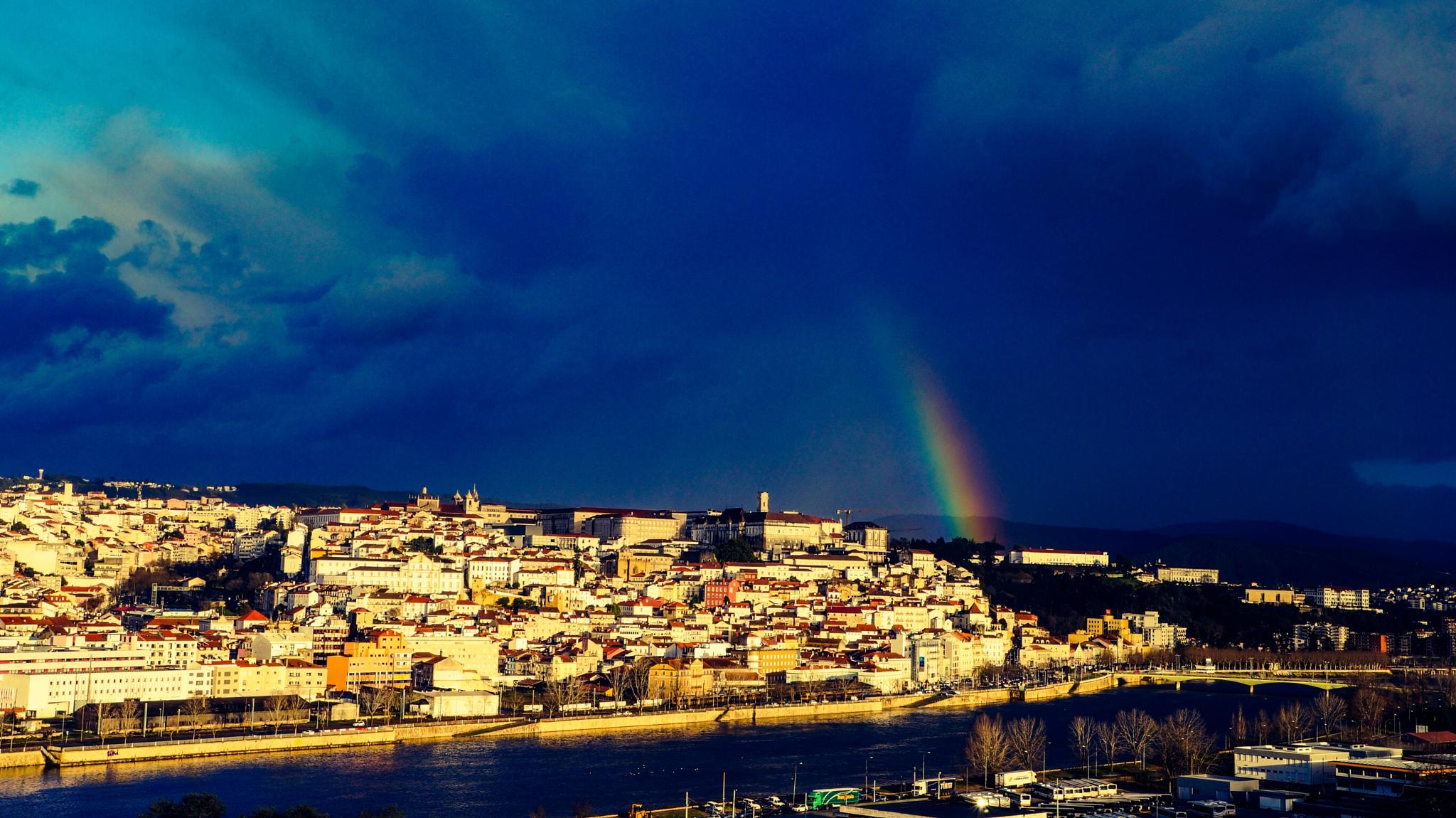 Photo in Landscape #colors #landscape #blue #city #river