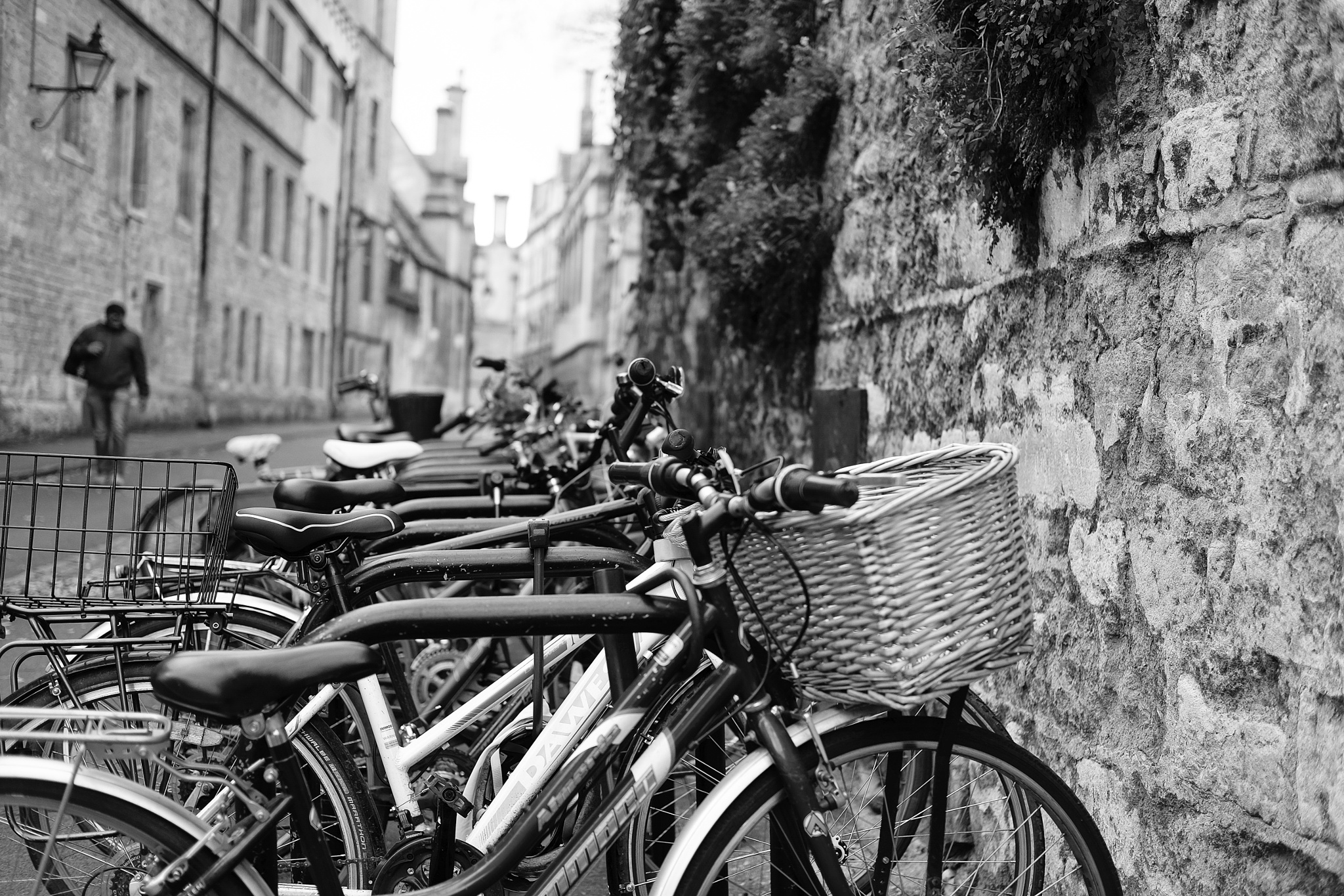 Bike Rack by Martin Beecroft