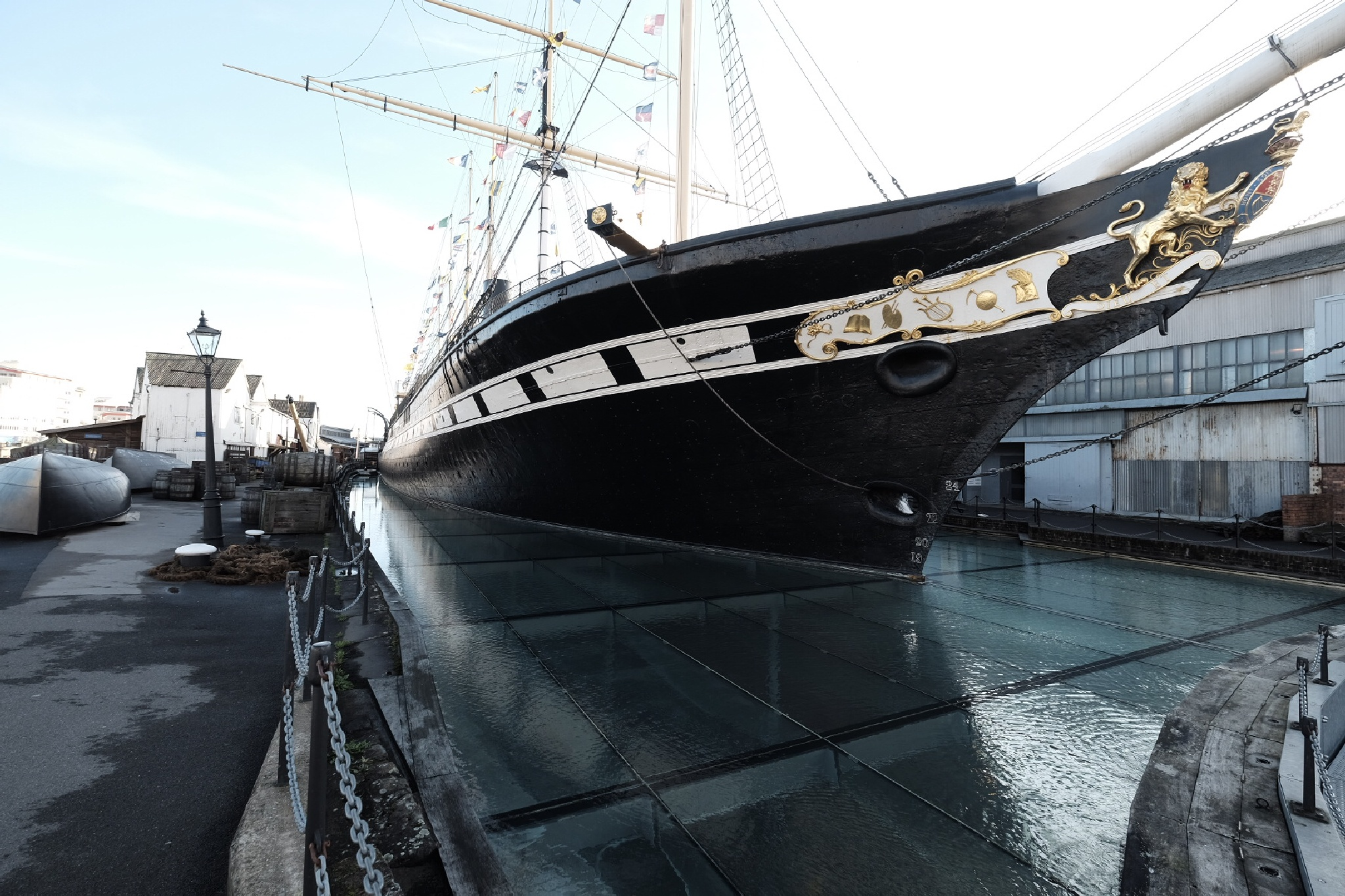 SS Great Britain by Martin Beecroft