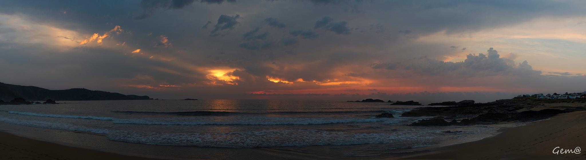 Sunset by Gema González