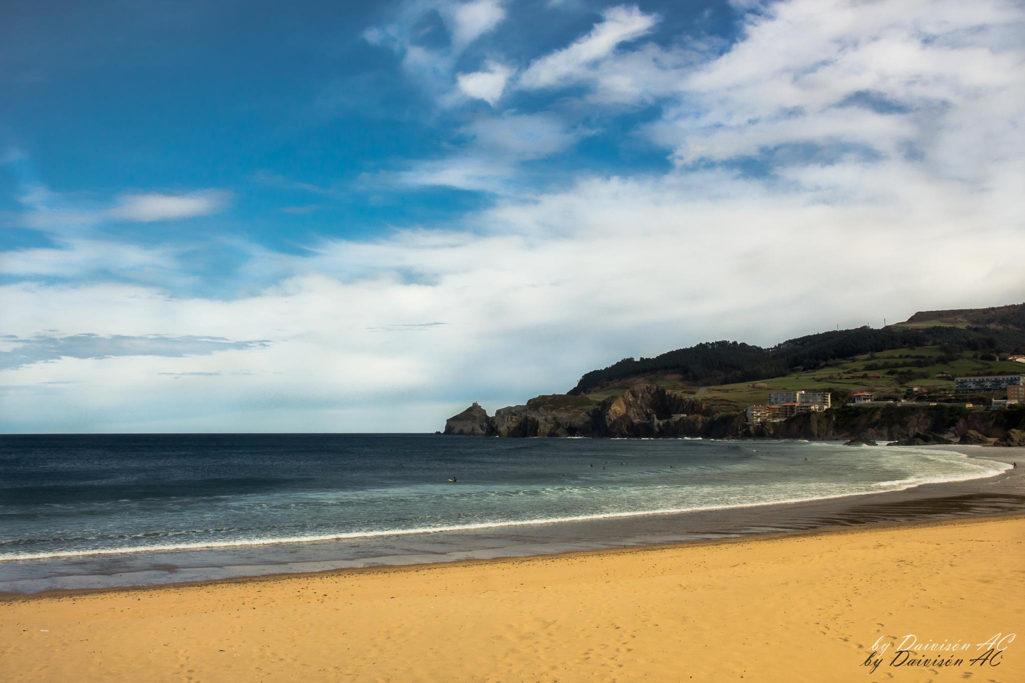 Playa de Bakio by Daivisón A.C