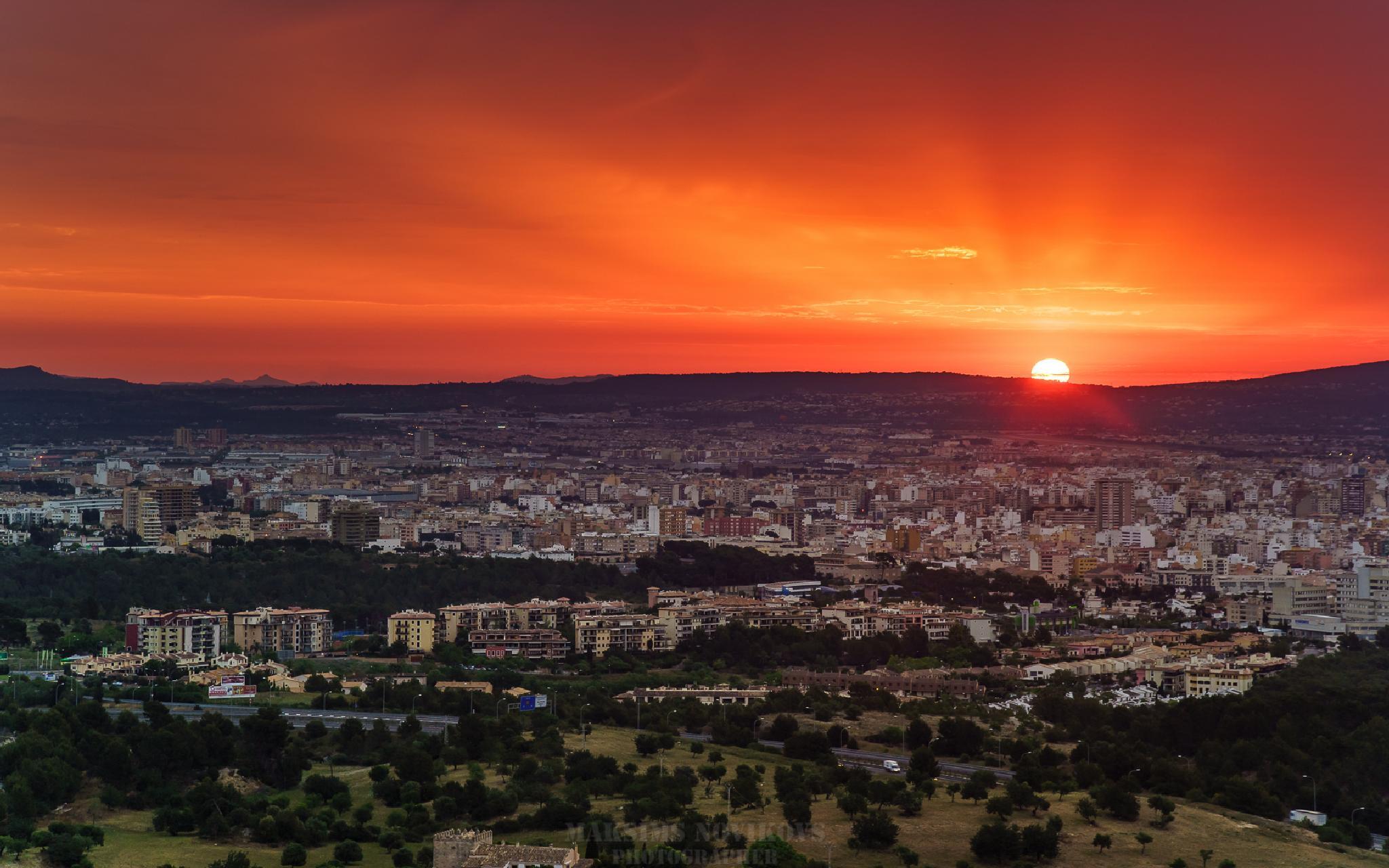 Sunrise Mallorca by Maksims Novikovs