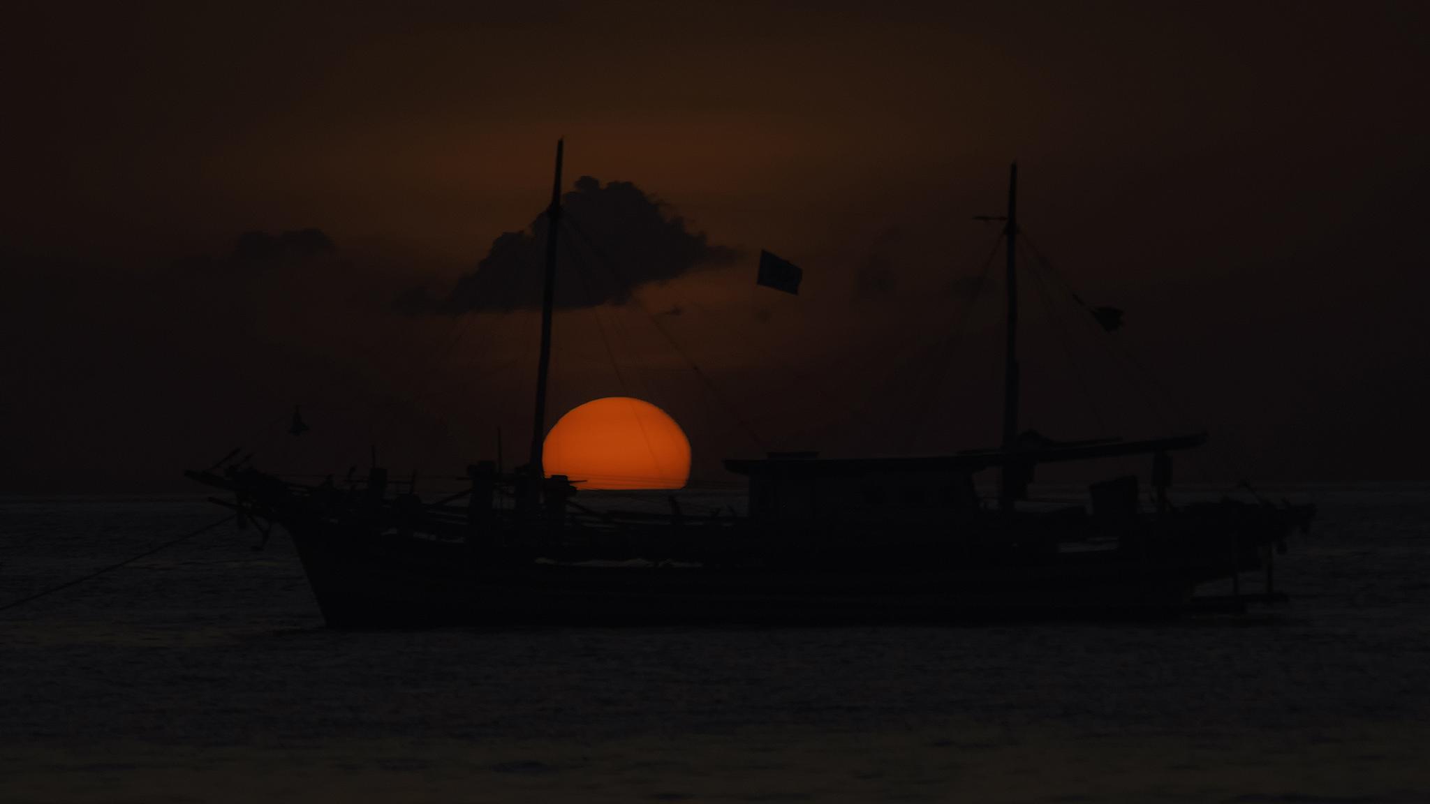 Sunset #2 by ajarsetiadi