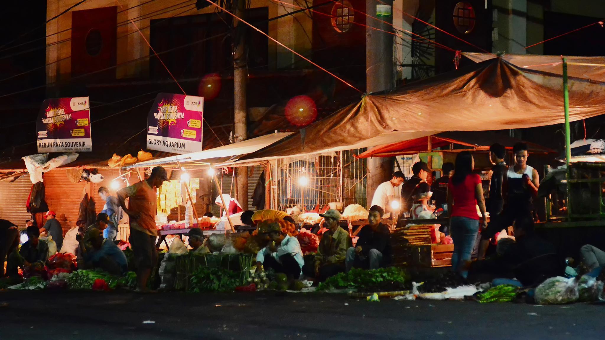 Traditional Night Market by ajarsetiadi