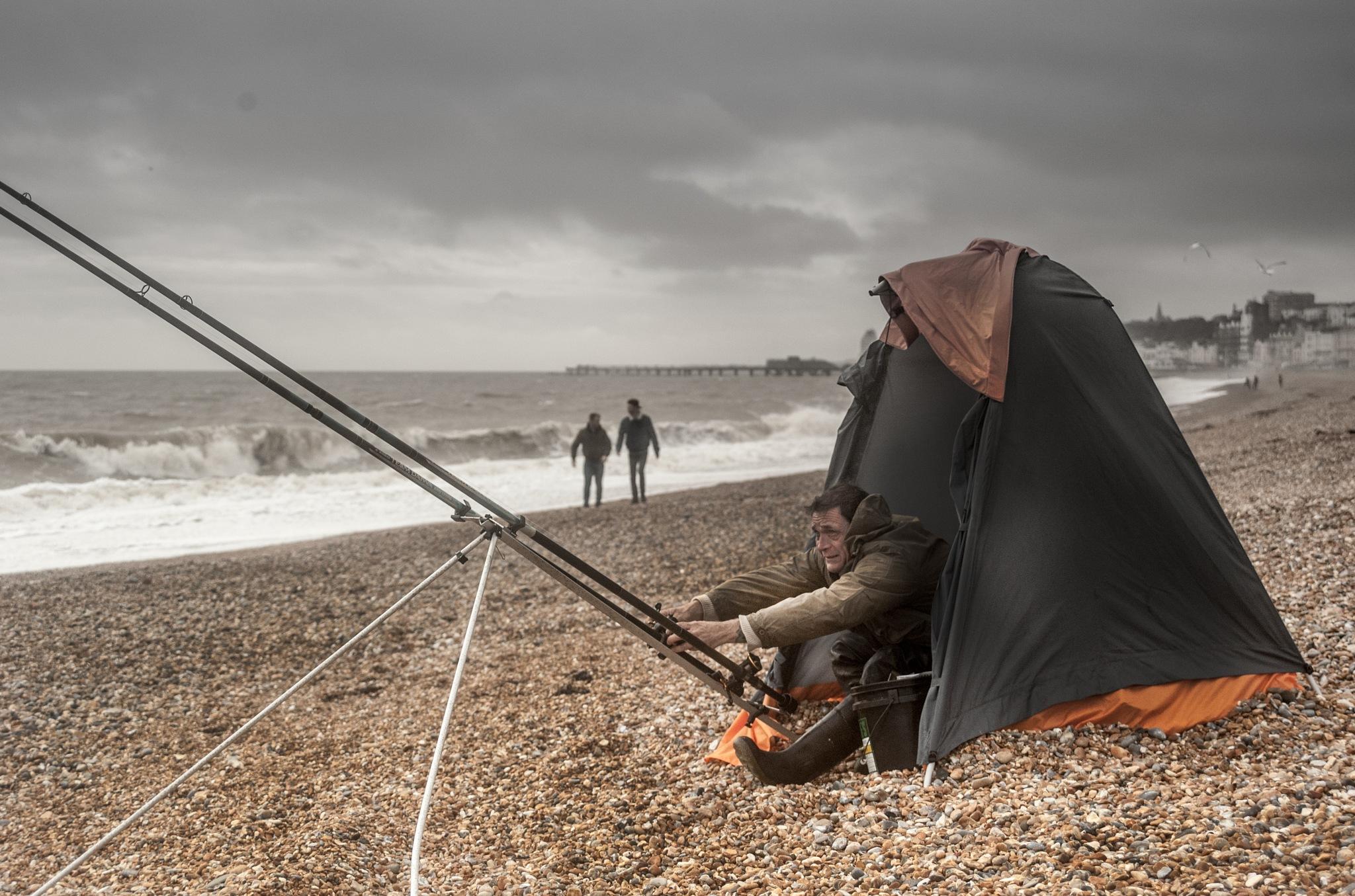 Fishing at Noon by xenamalhi86