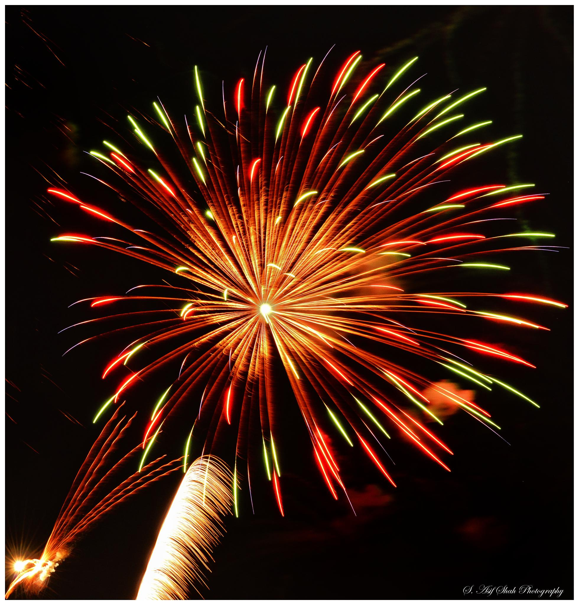 Fireworks by S. Asif Shah photography