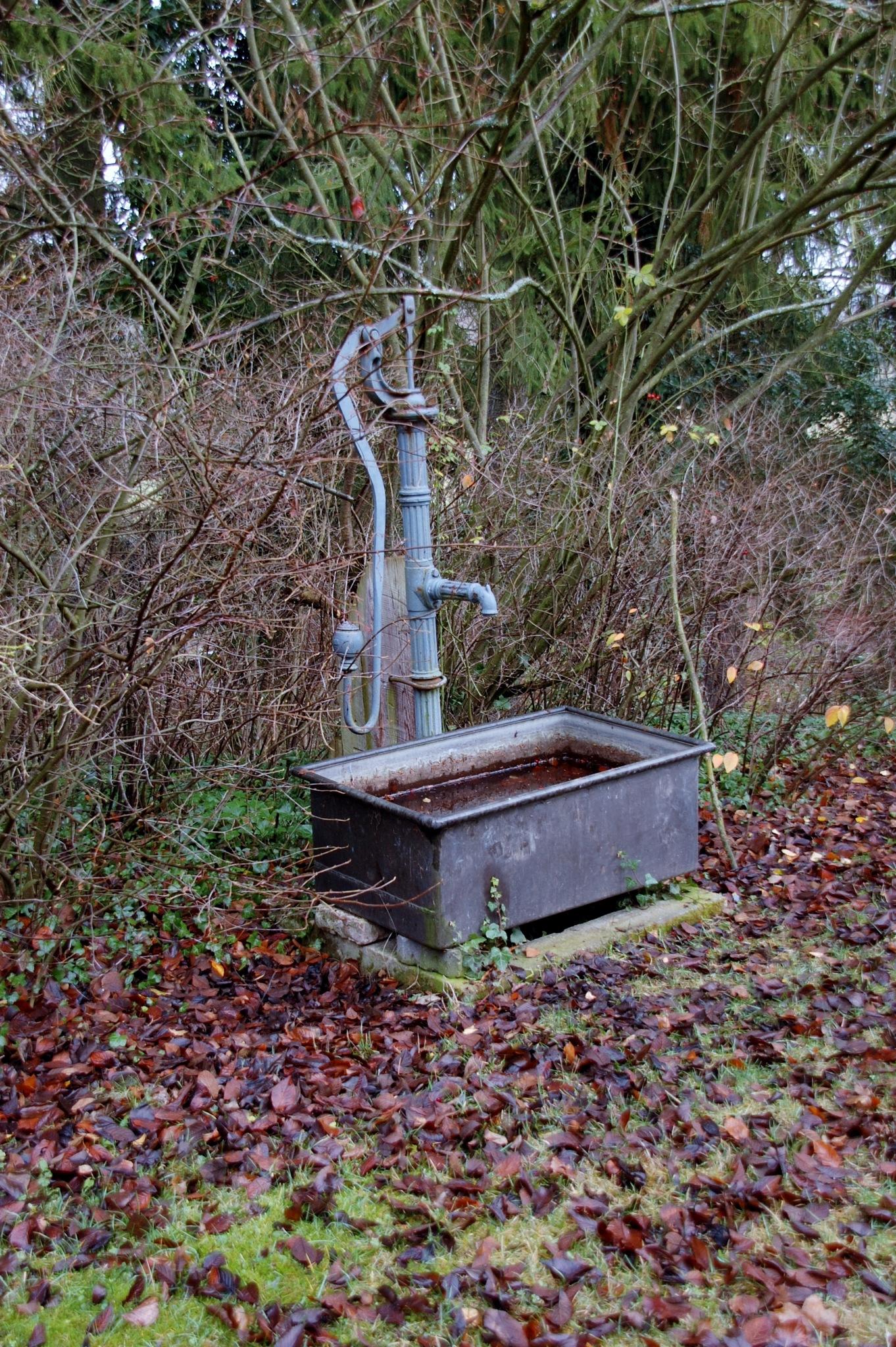 Wasserpumpe im Kloster Steinfeld by Photoelch