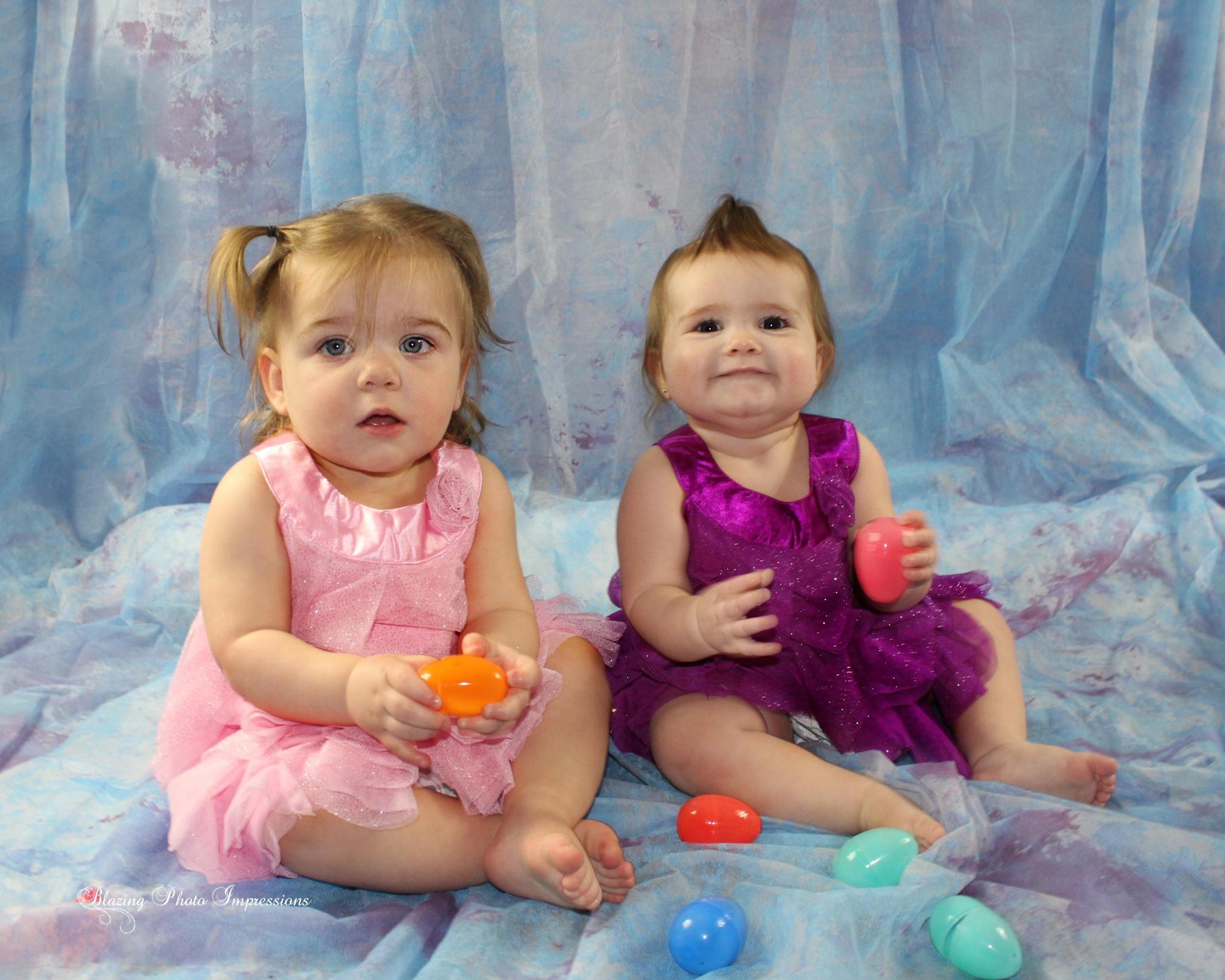 Easter Babies 1 by Nanehi Moon