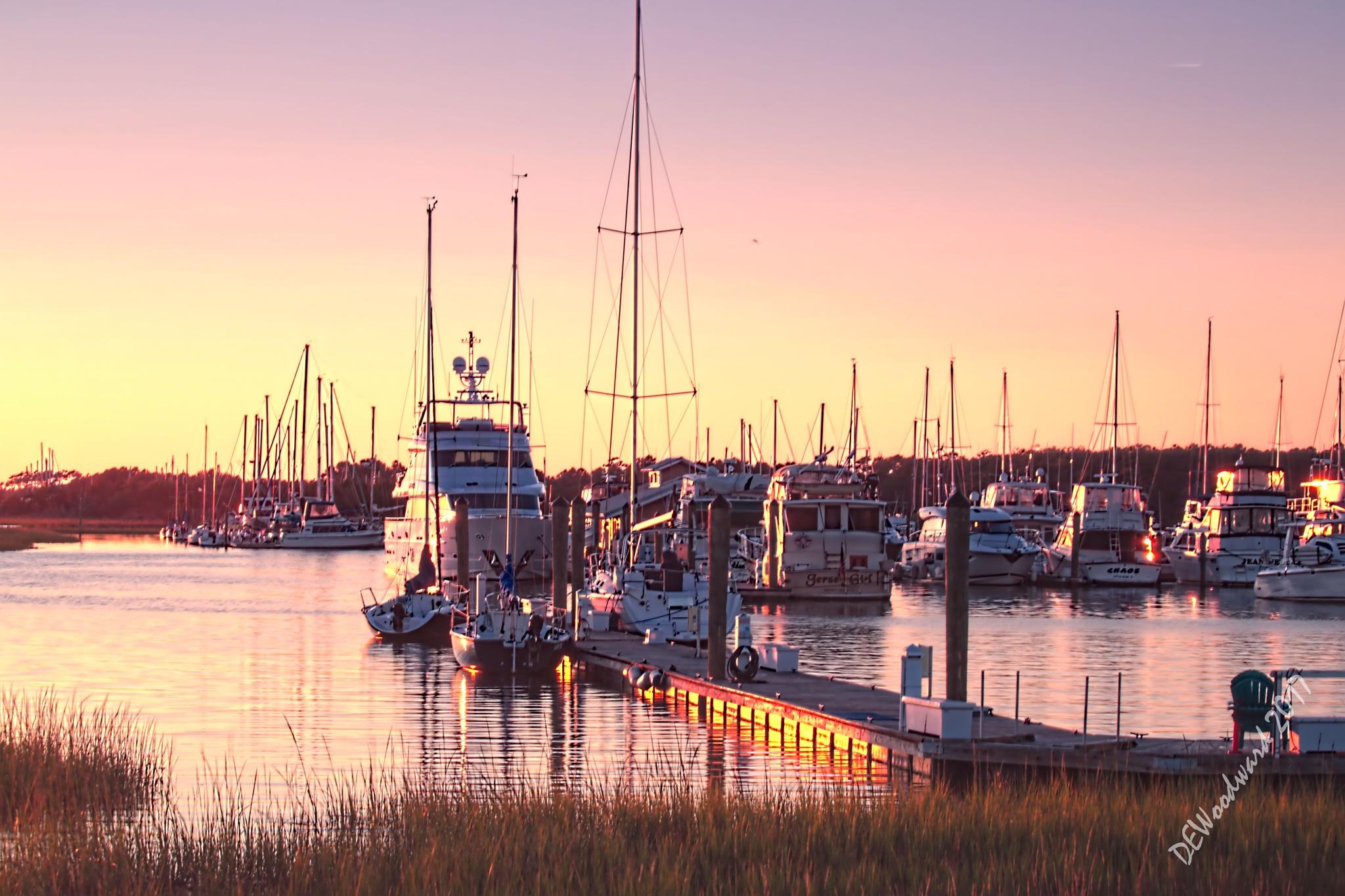 Southport Marina by dewoodward