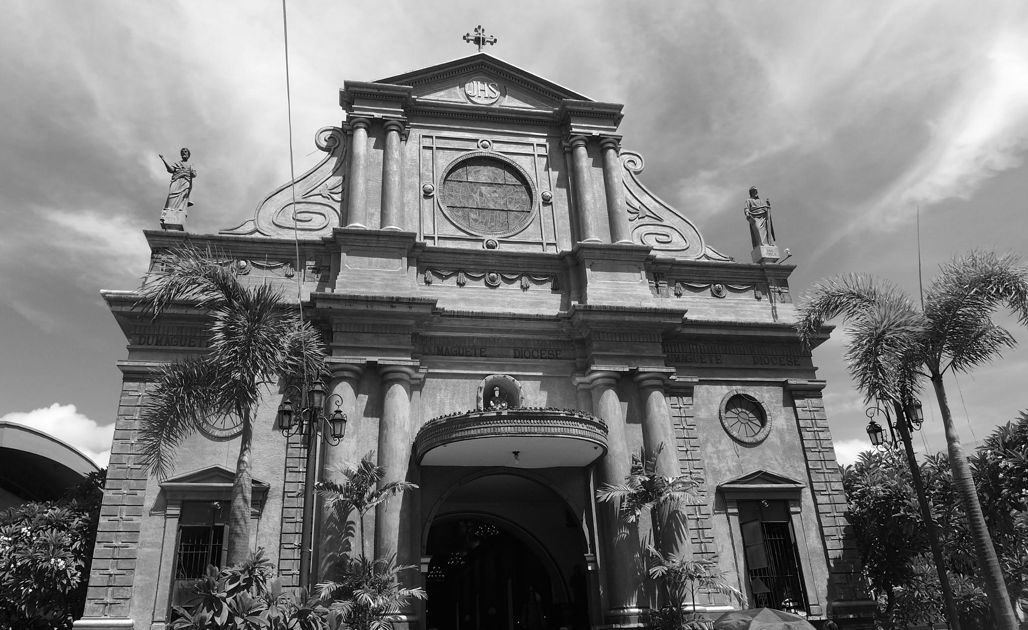 Photo in Architecture #dumaguete #city #church