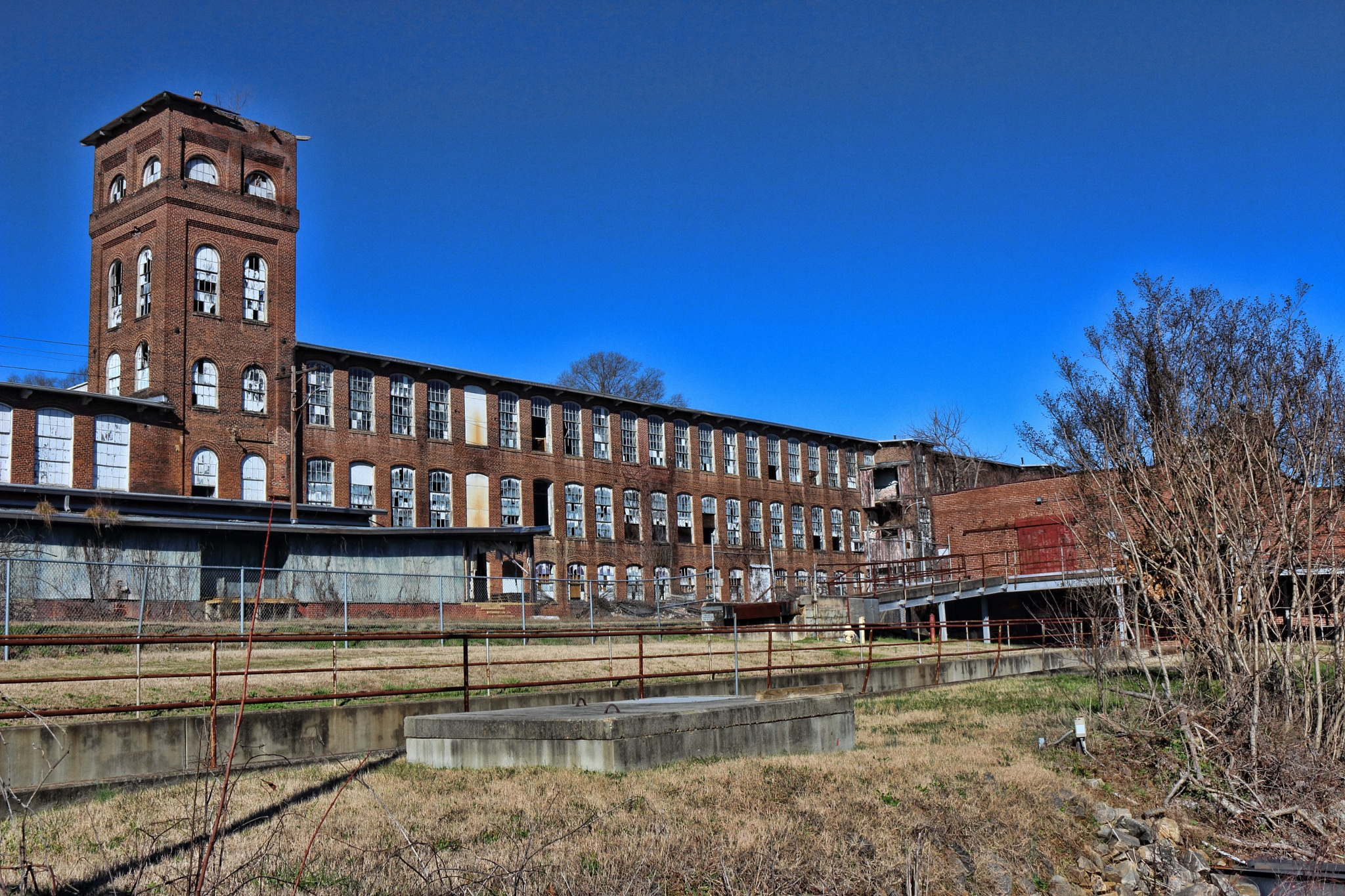 Eden NC old Calcium Carbide Plant town of (Spray) by Ronald Woodward
