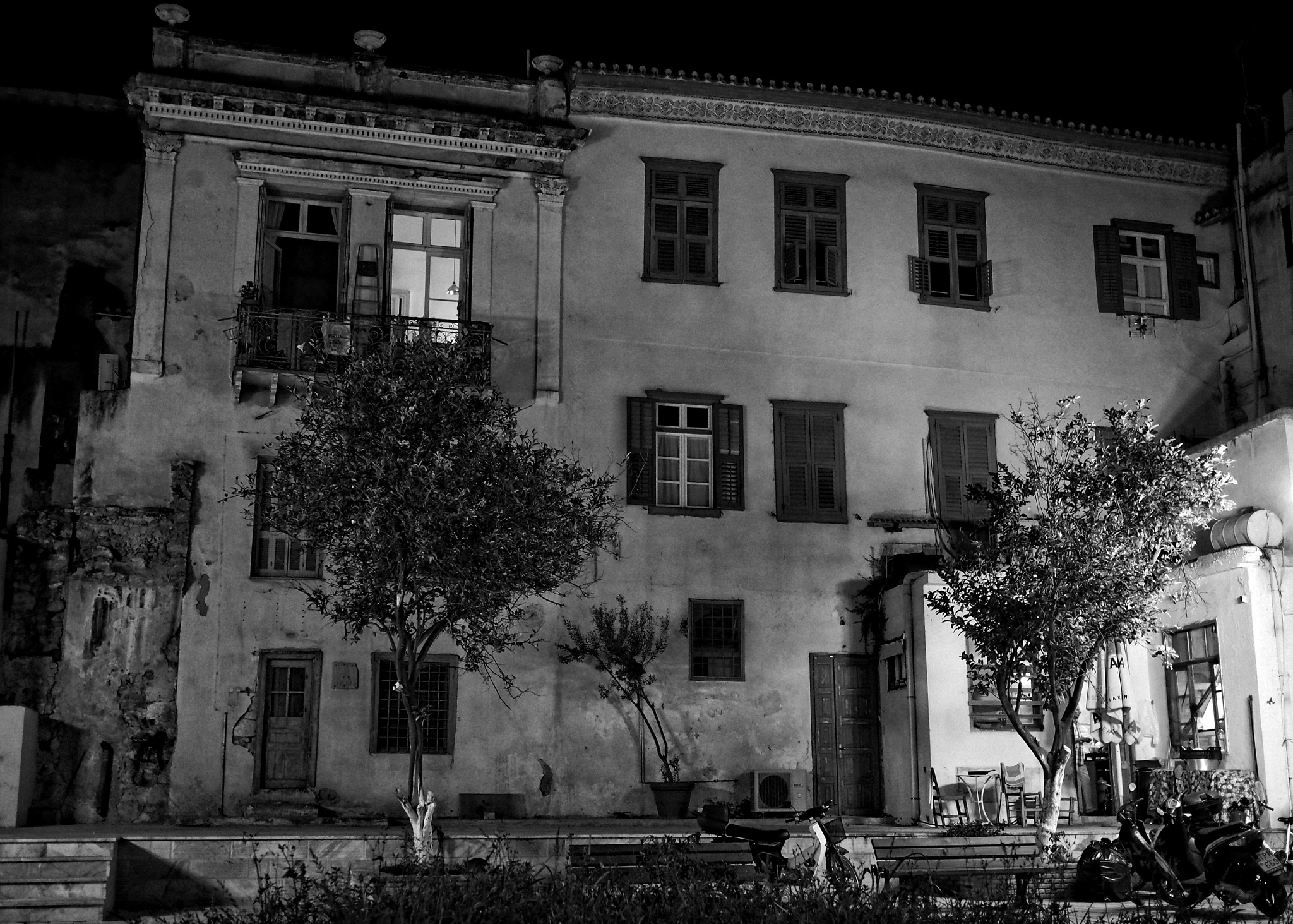 Quiet night in Napflion by Philip S.