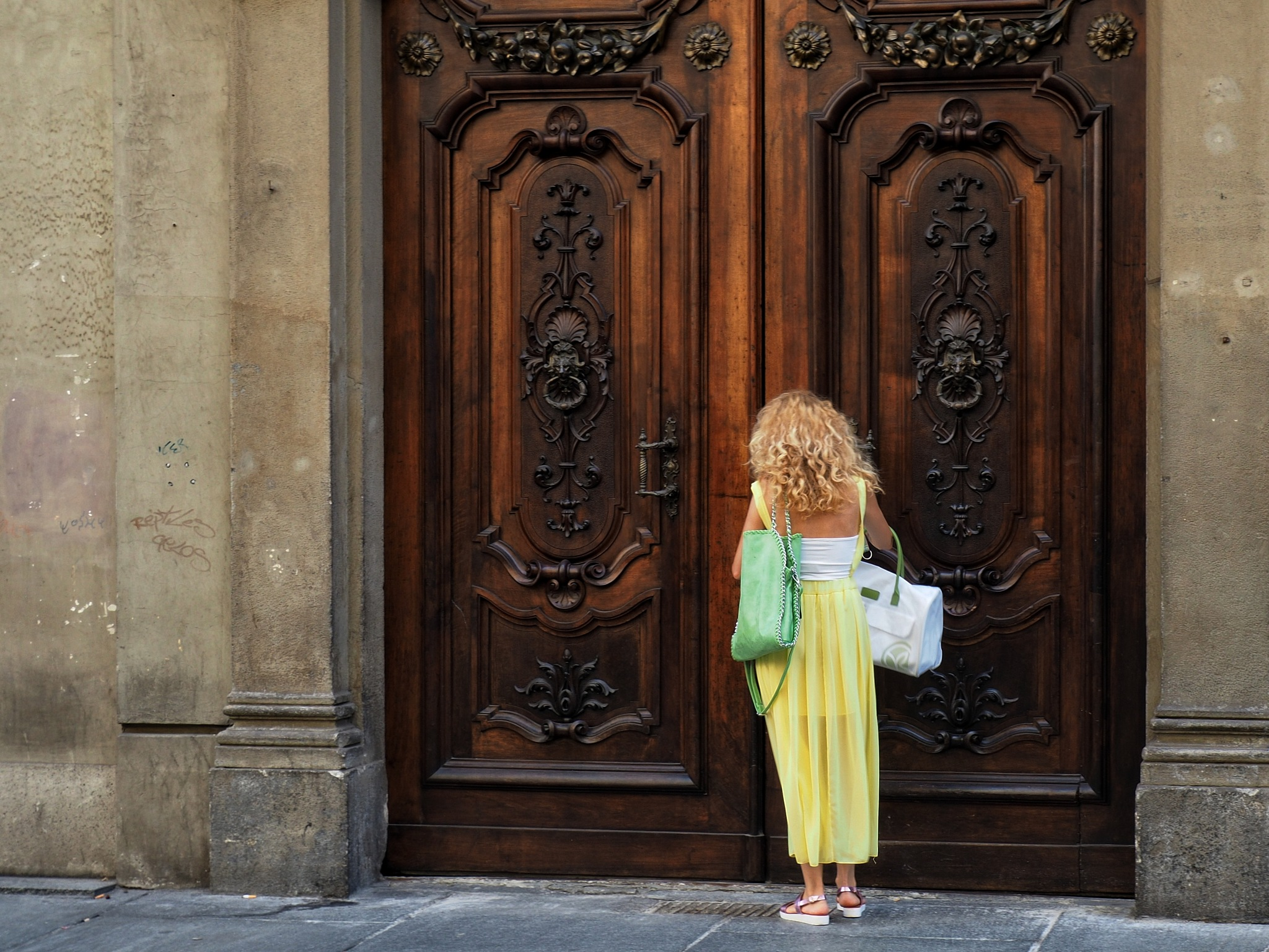 Closed doors #3 by Philip S.