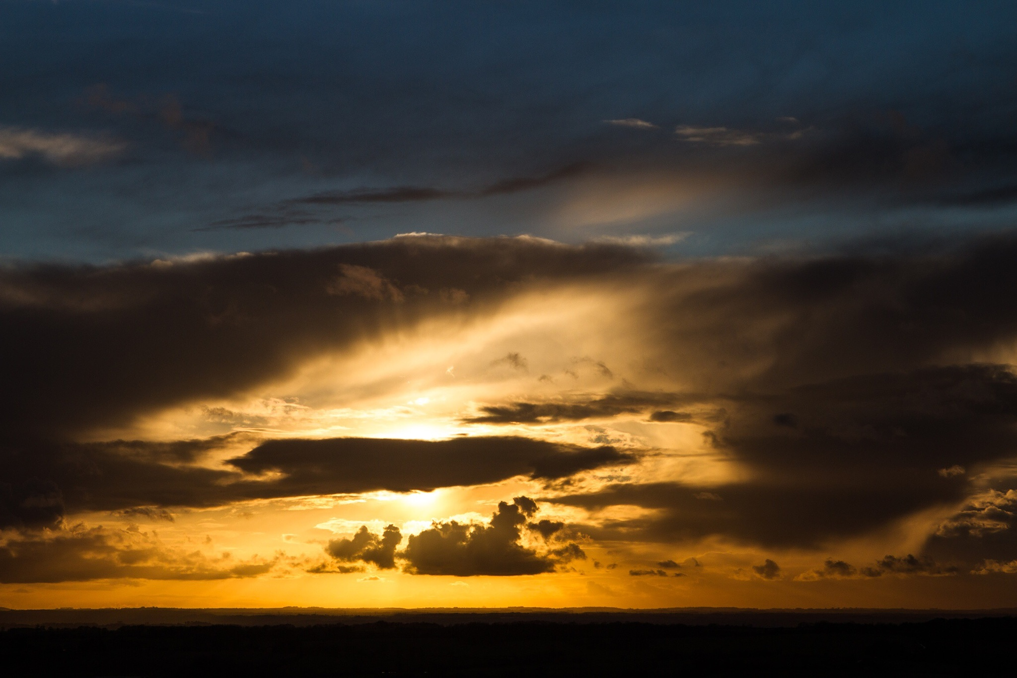 Ridgeway evening by Steve Blundell
