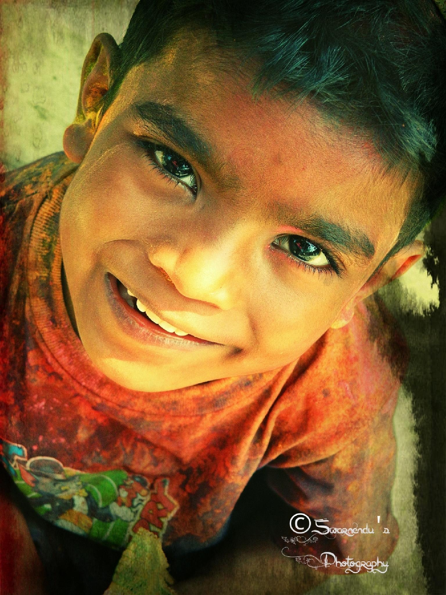 Happy Holi by Swarnendu Ghoshdastidar